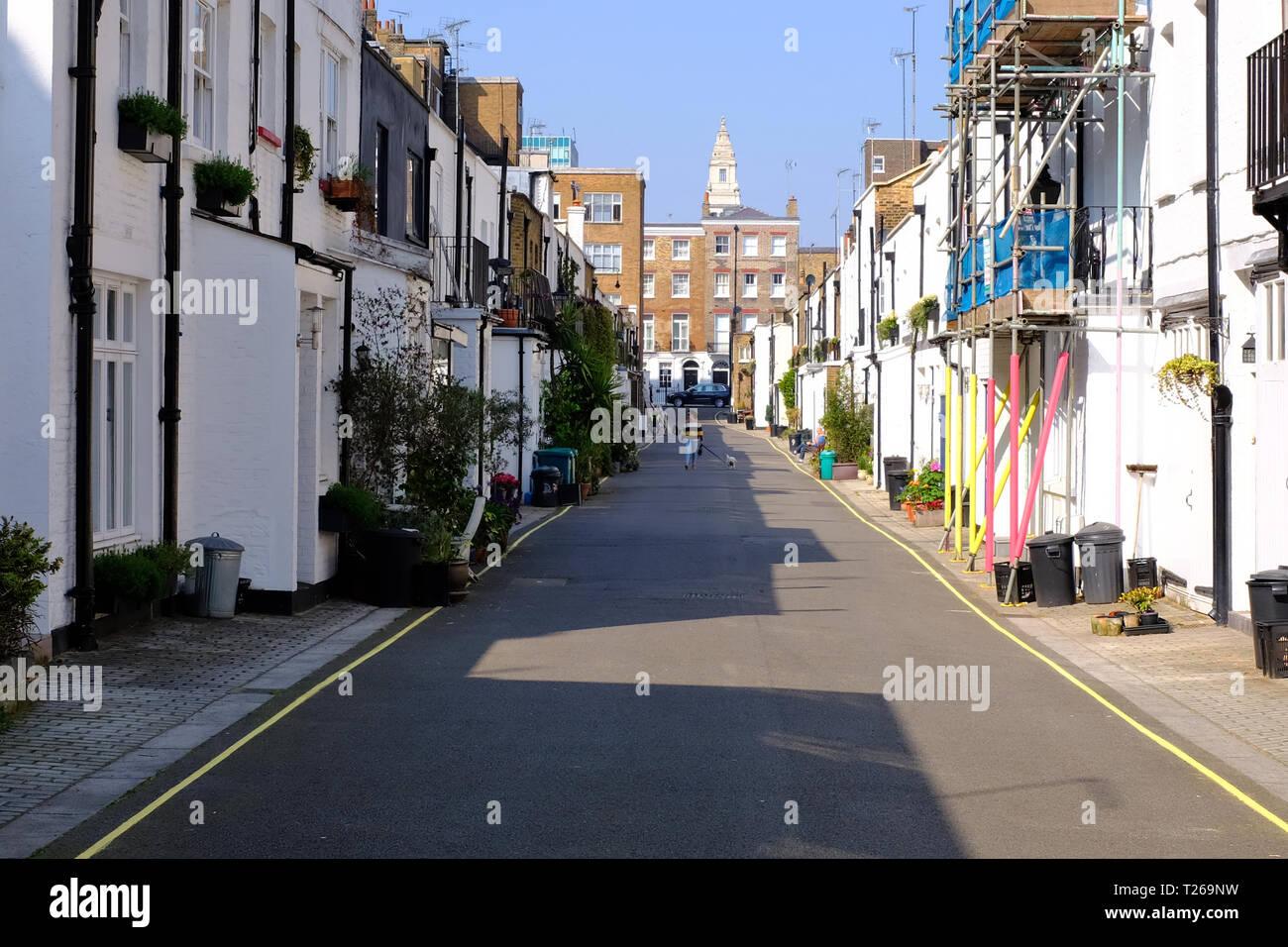 Gloucester Place Mews London W1 UK Stockfoto