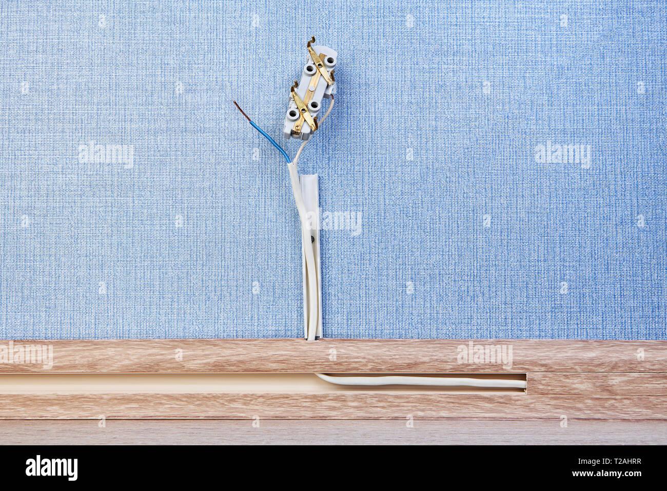 Gut bekannt Elektrische Steckdose Stockfotos & Elektrische Steckdose Bilder EE73