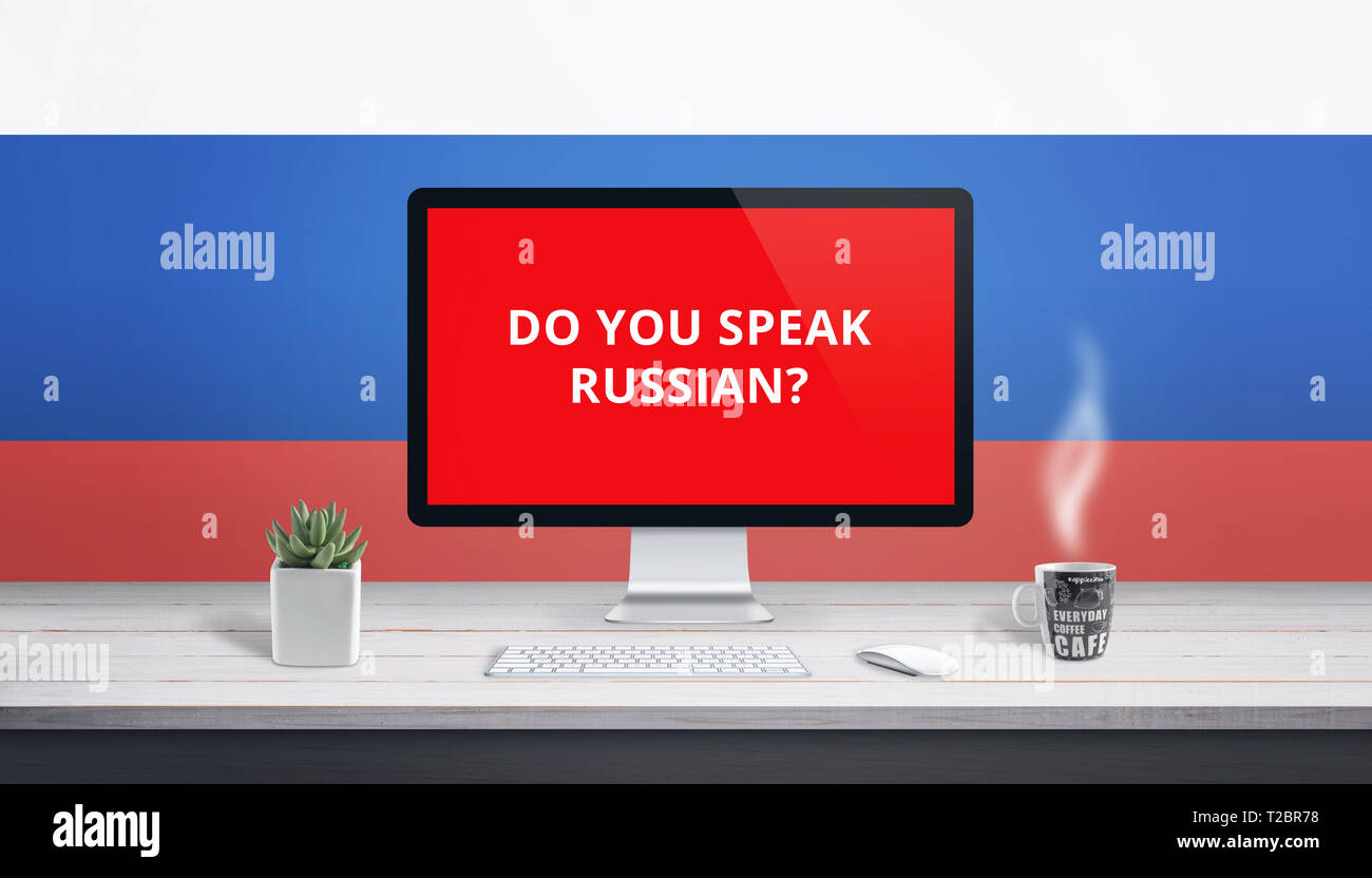 Im hintergrund russisch