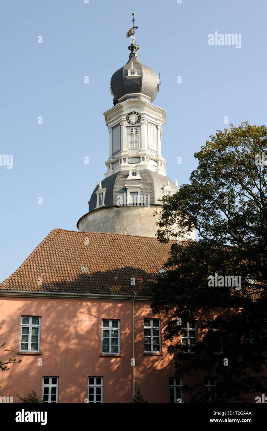 Schloss Jever, Jever, Friesland, Niedersachsen, Deutschland. | Schloss Jever, Friesland, Niedersachsen, Deutschland. Stockbild