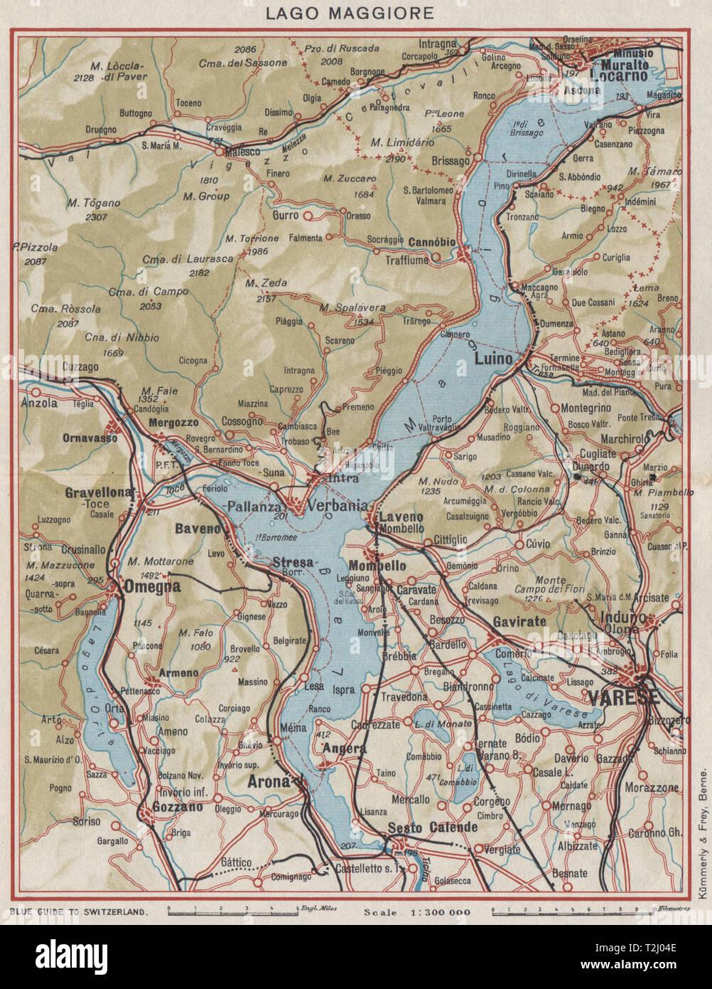 See Lago Maggiore Varese Locarno Arona Omegna Luino Vintage