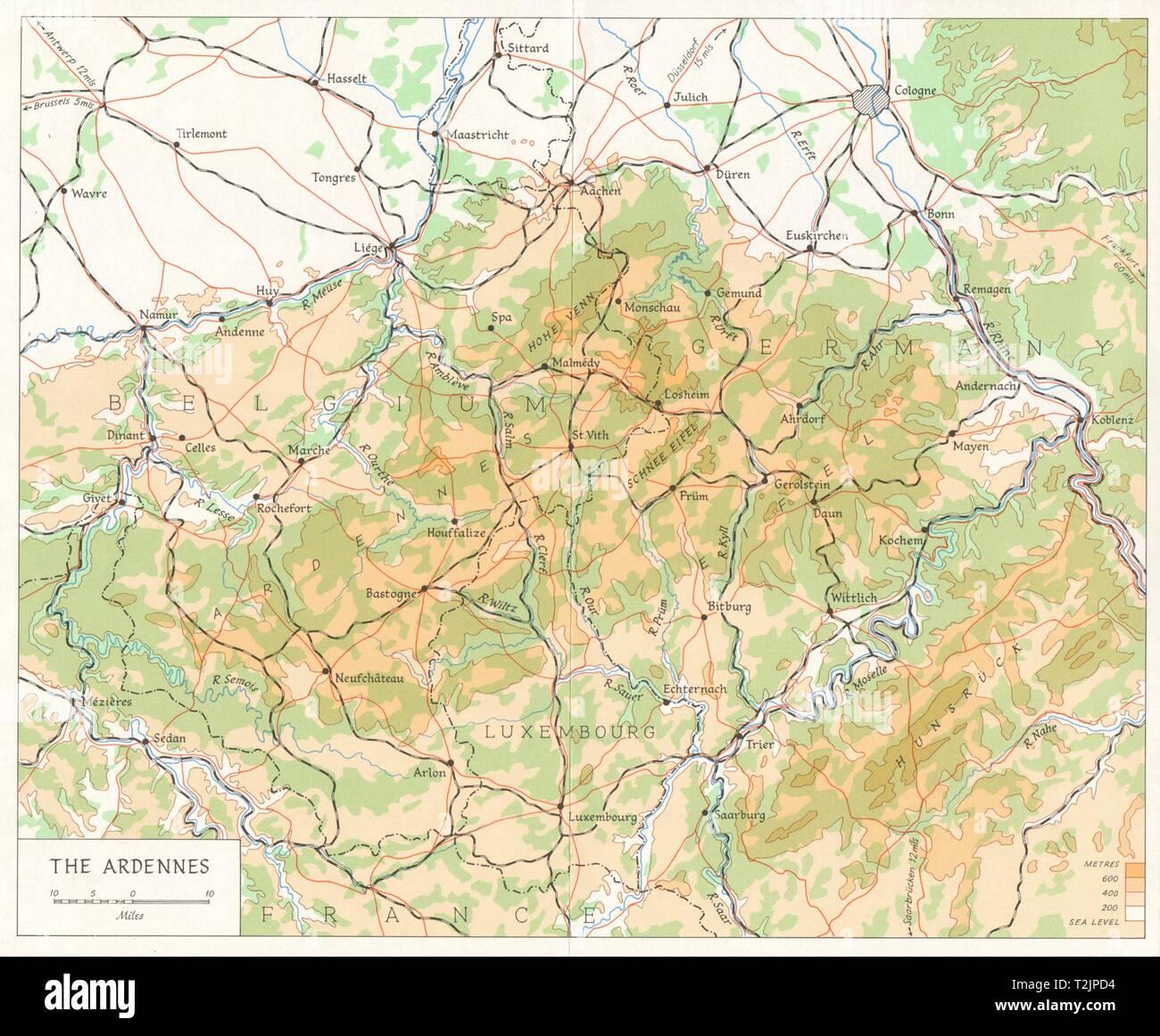 Schlacht Der Ausbuchtung Deutsche Gegenoffensive Ardennen 1944