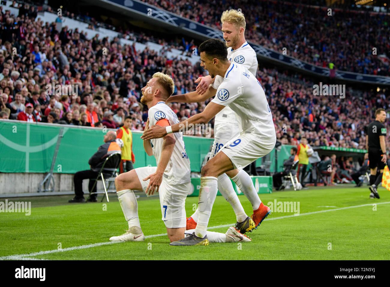 03 April 2019 Bayern Munchen Fussball Dfb Pokal Fc