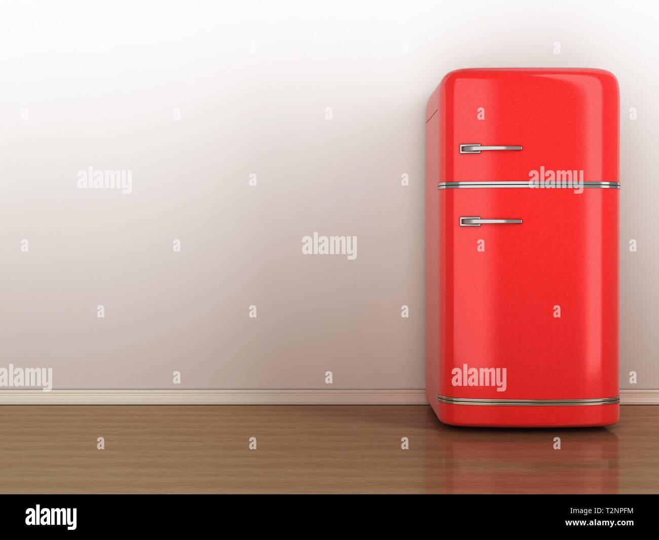 Retro Kühlschrank Groß : Bild von retro kühlschrank stockfoto bild alamy