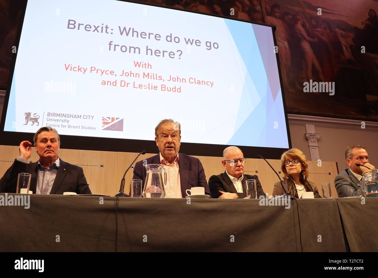 Zentrum für Brexit Studien jährliche Konferenz 2019 Stockbild