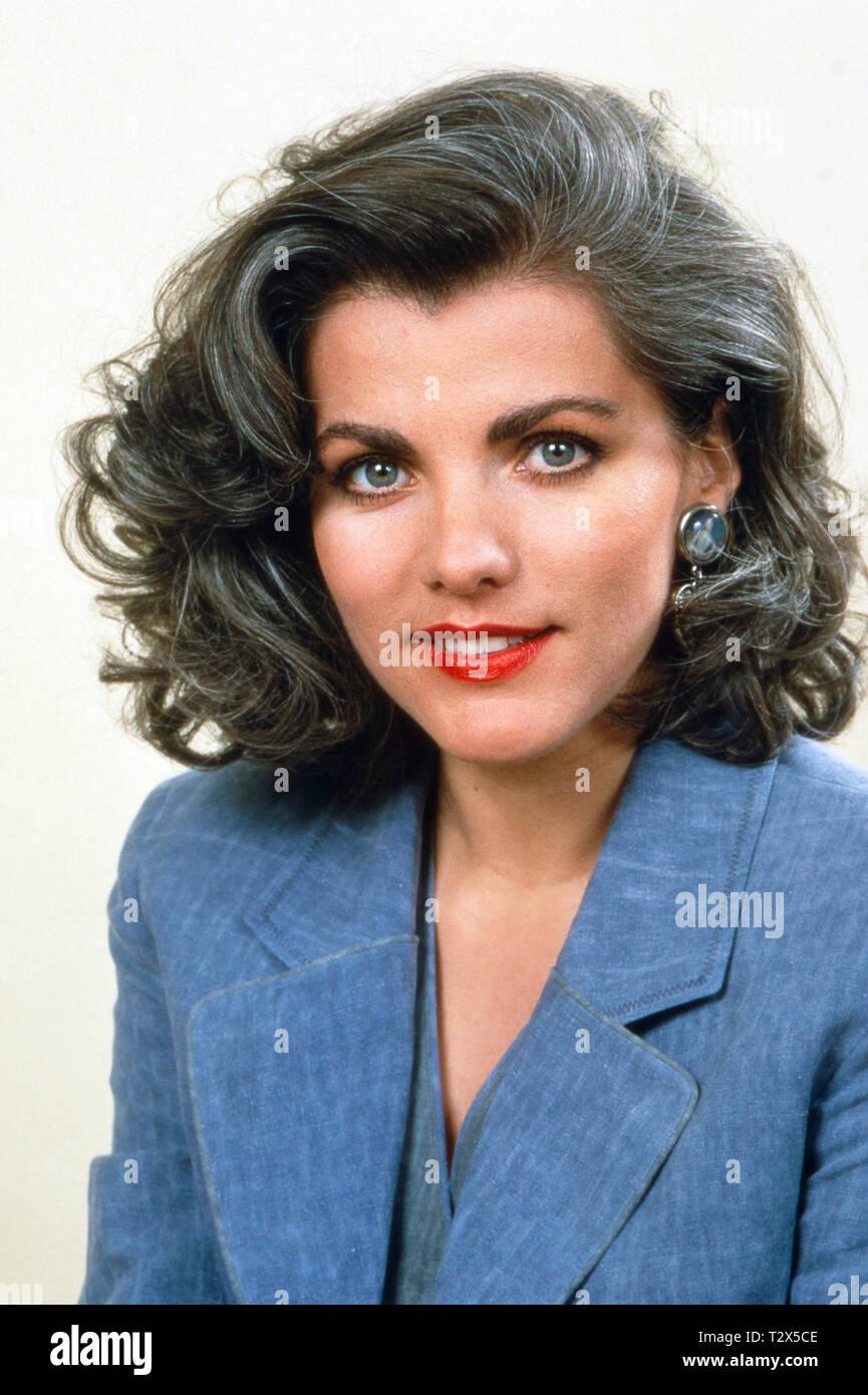 Birgit Schrowange, deutsche Fernsehmoderatorin, Ca. 1994