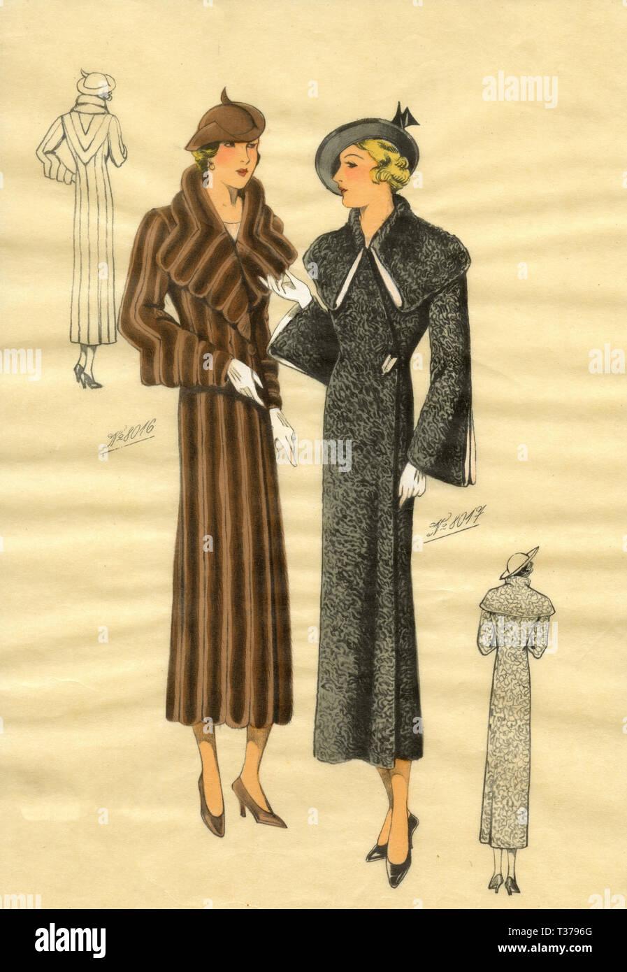 mode der 1930er jahre stockfotos und -bilder kaufen - alamy