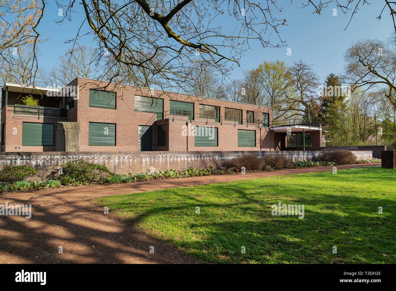 Krefeld Garden View Museum Haus Lange Zwischen 1928 Und 1931 Von