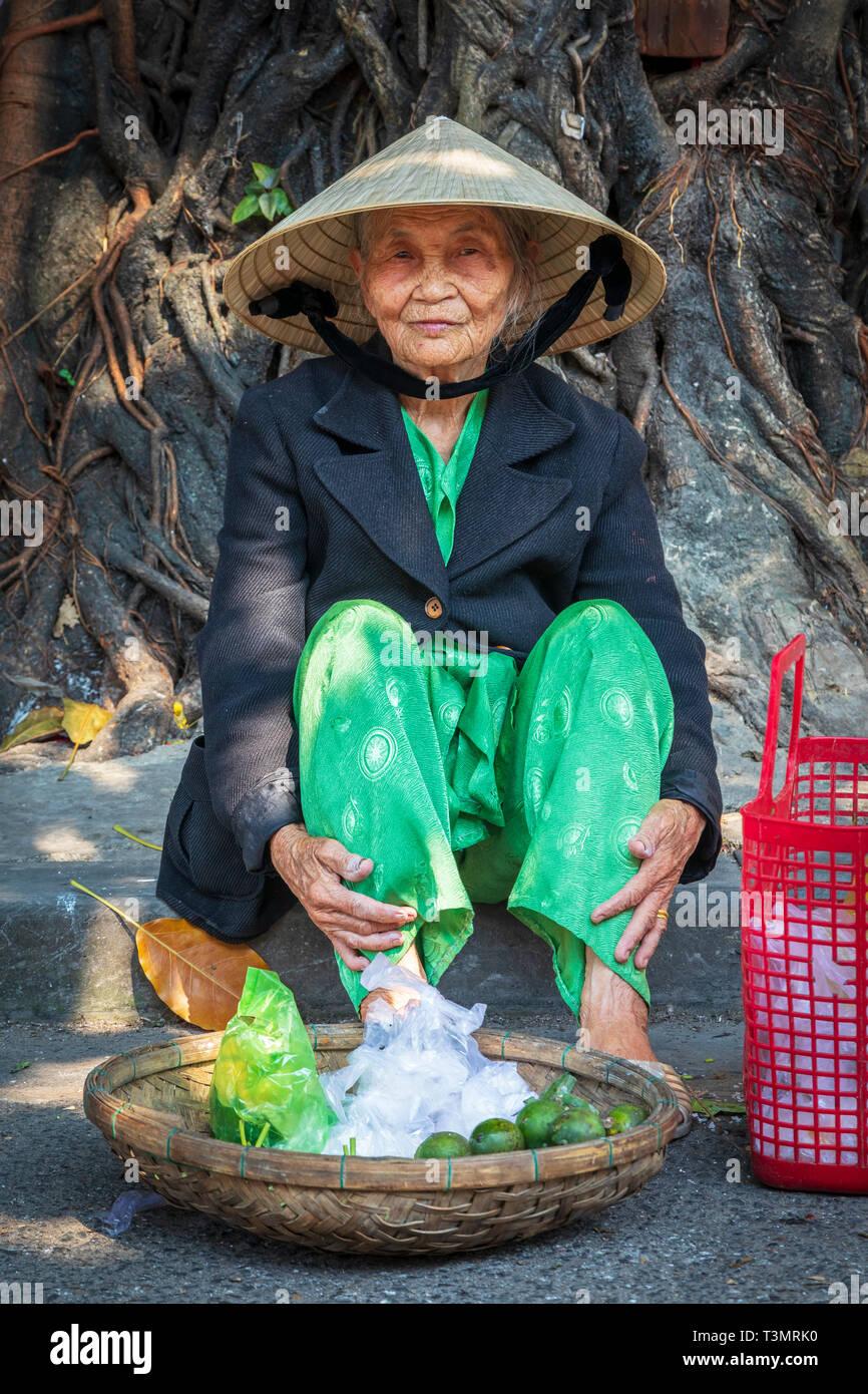 Aus einer vietnamesischen christlichen dame