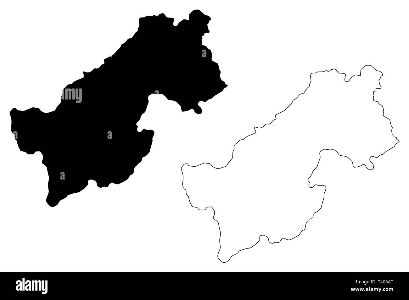 Karte Afghanistan Provinzen.Provinz Paktia Islamische Republik Afghanistan Provinzen