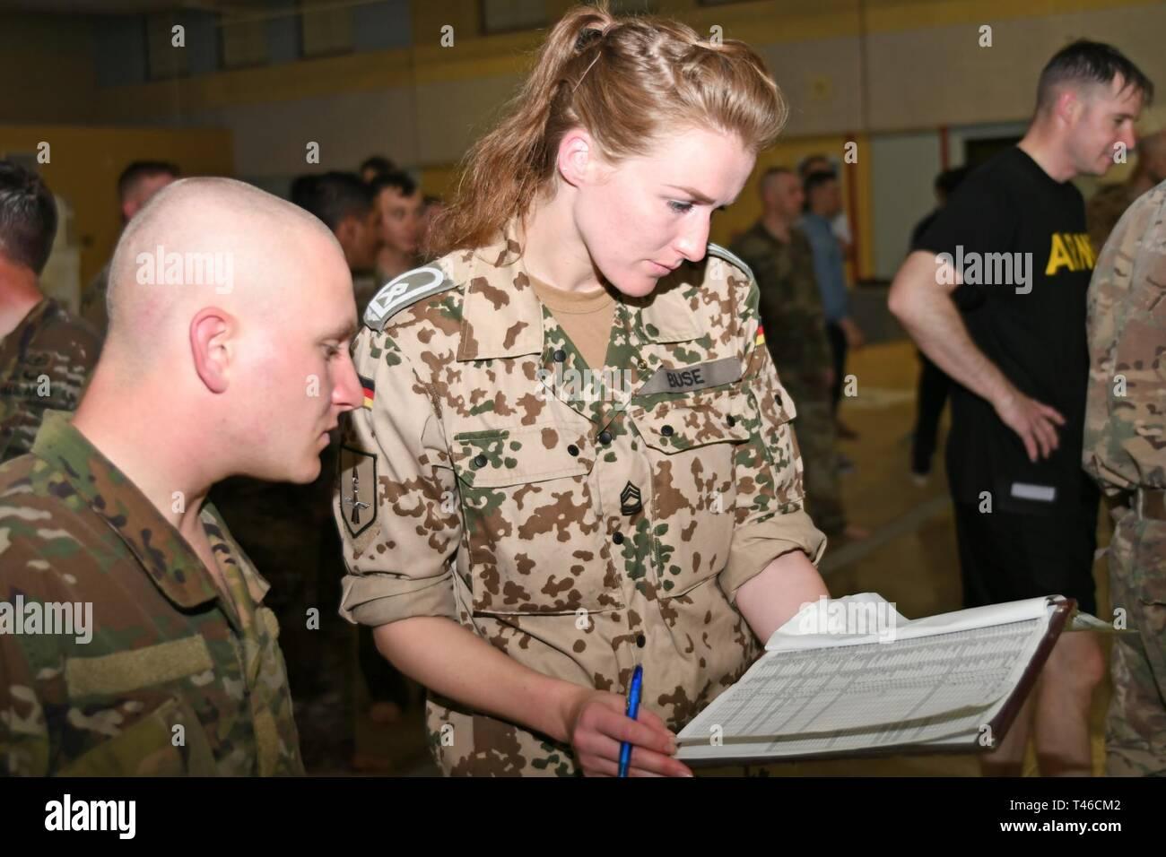 FORT BLISS, Texas German Air Force Master Sgt. Ann