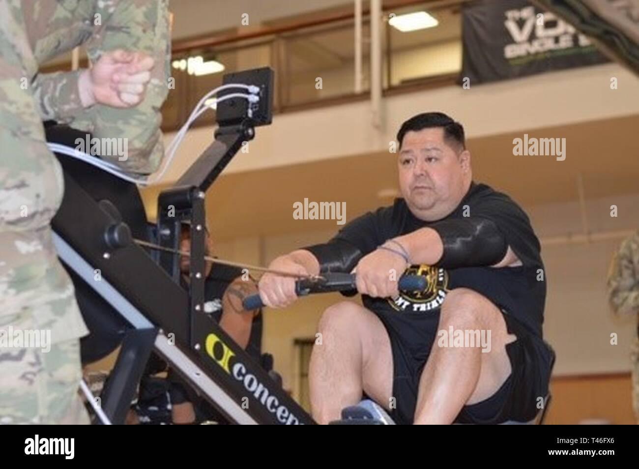 Pensionierte Sgt  Michael Shaw beteiligt sich an der 2019