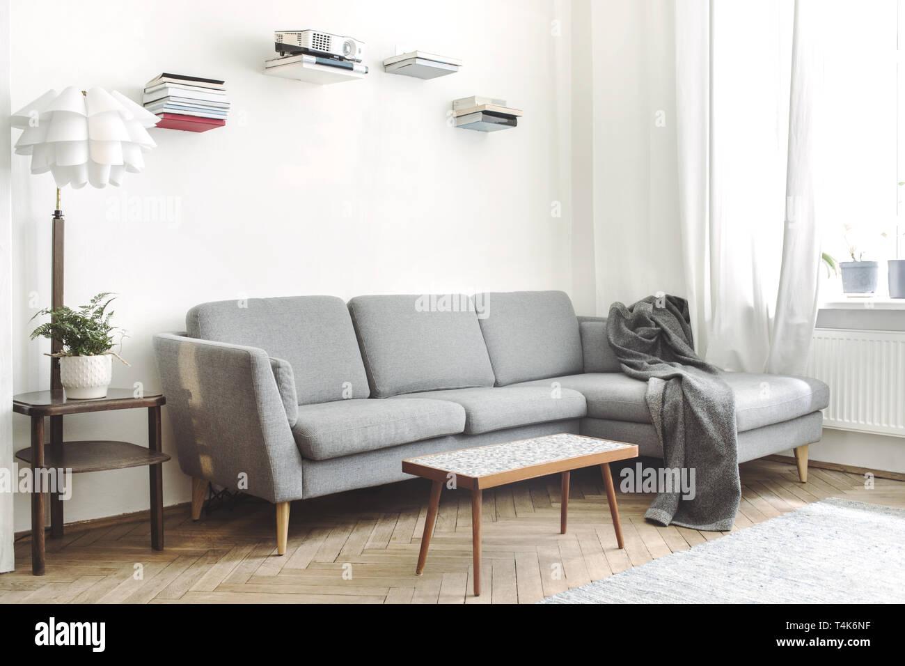 Stilvolle und moderne Einrichtung der Wohnzimmer ...