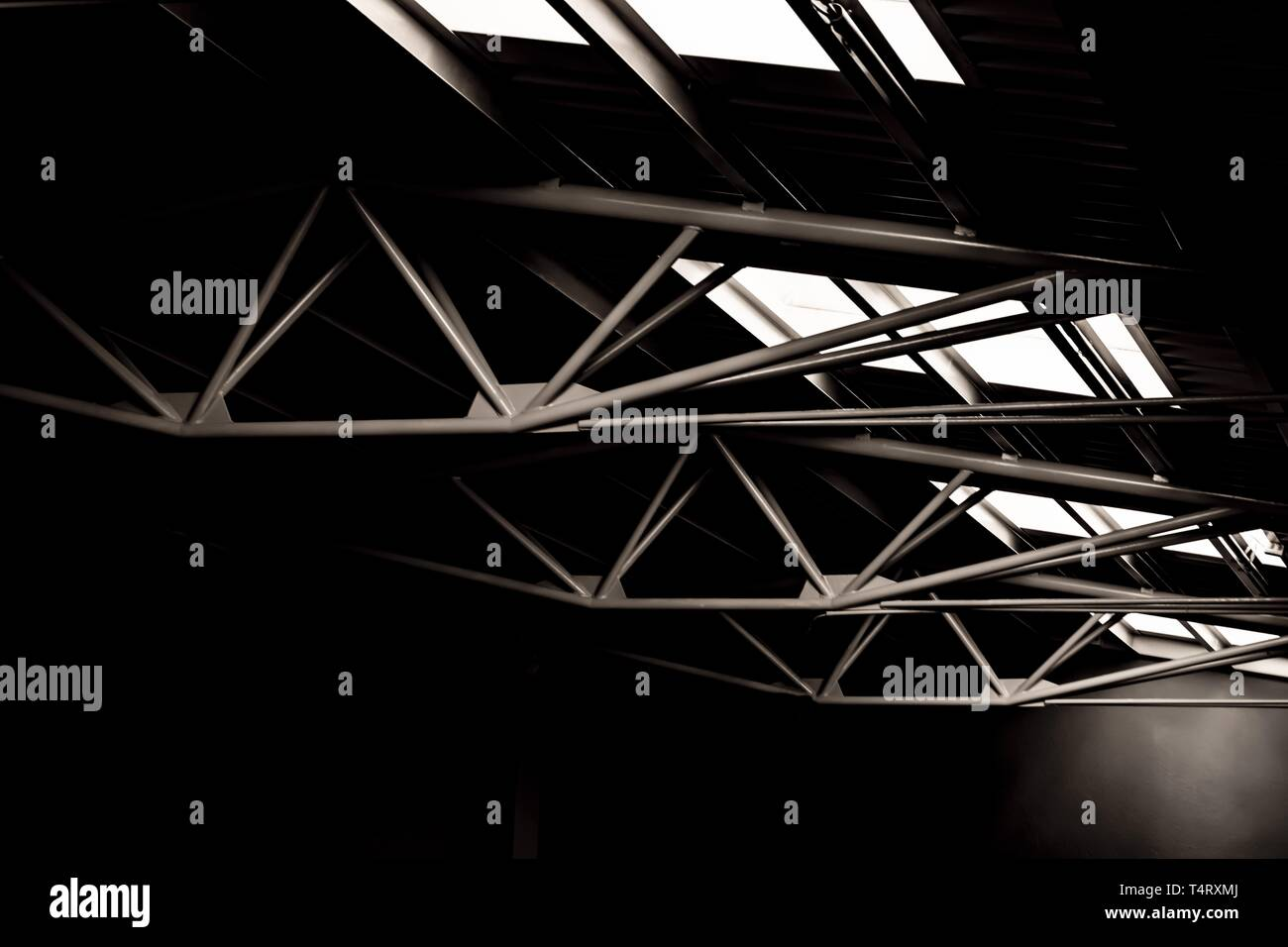 Retro Struktur in der Schweiz gebaut. Stockbild