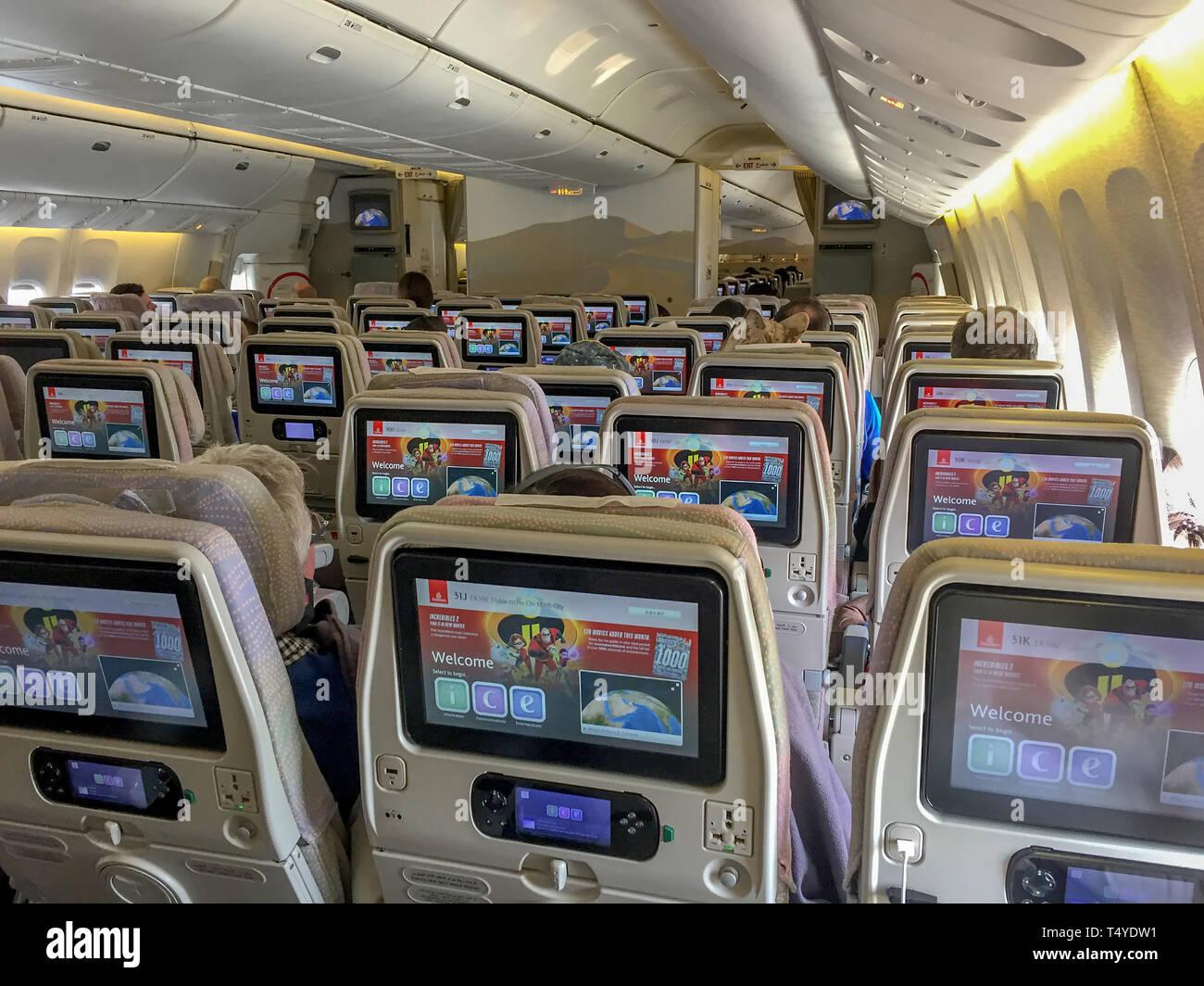 Boeing 777 Kabine Stockfotos Boeing 777 Kabine Bilder Alamy
