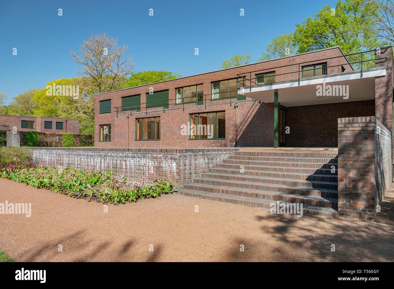 Krefeld Parkview Im Museum Haus Esters Zwischen 1928 Und 1931 Von