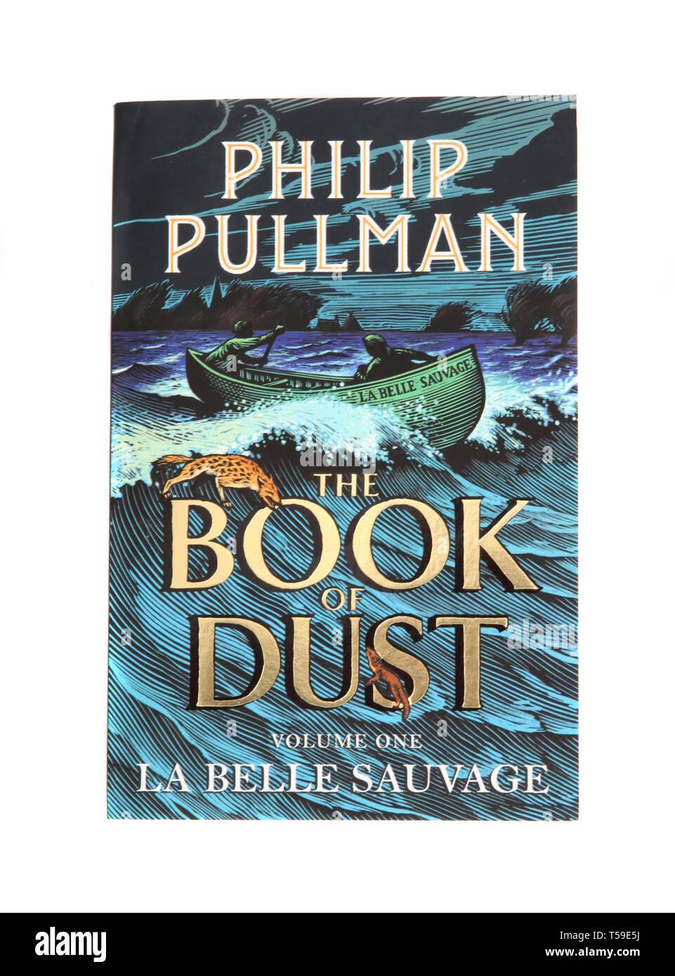 Das Buch von Staub von Philip Pullman Stockbild