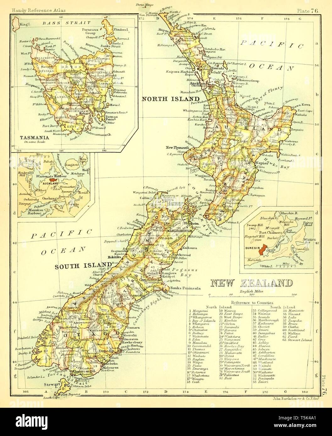 Karte Neuseeland Südinsel Zum Ausdrucken.New Zealand Map Stockfotos New Zealand Map Bilder Seite 3 Alamy