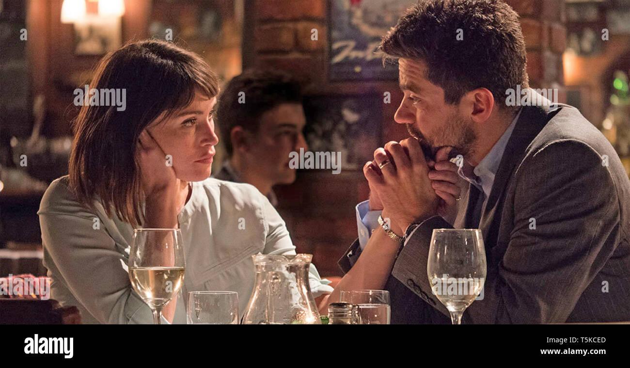 Die Flucht 2017 Film mit Gemma Arterton und Dominic Cooper Stockbild