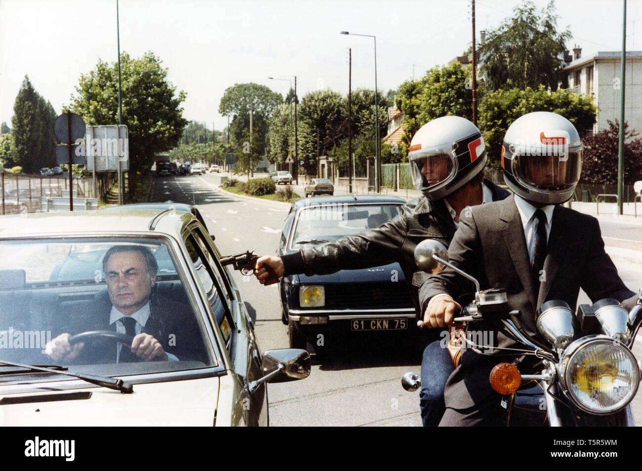 TROIS HOMMES A ABATTRE 3 HOMMES A ABATTRE 1980 de Jacques Deray François Perrot. tueur; Killer; meurtre, Mord PROD DB © Adel Produktionen - Antenne-2 Stockbild