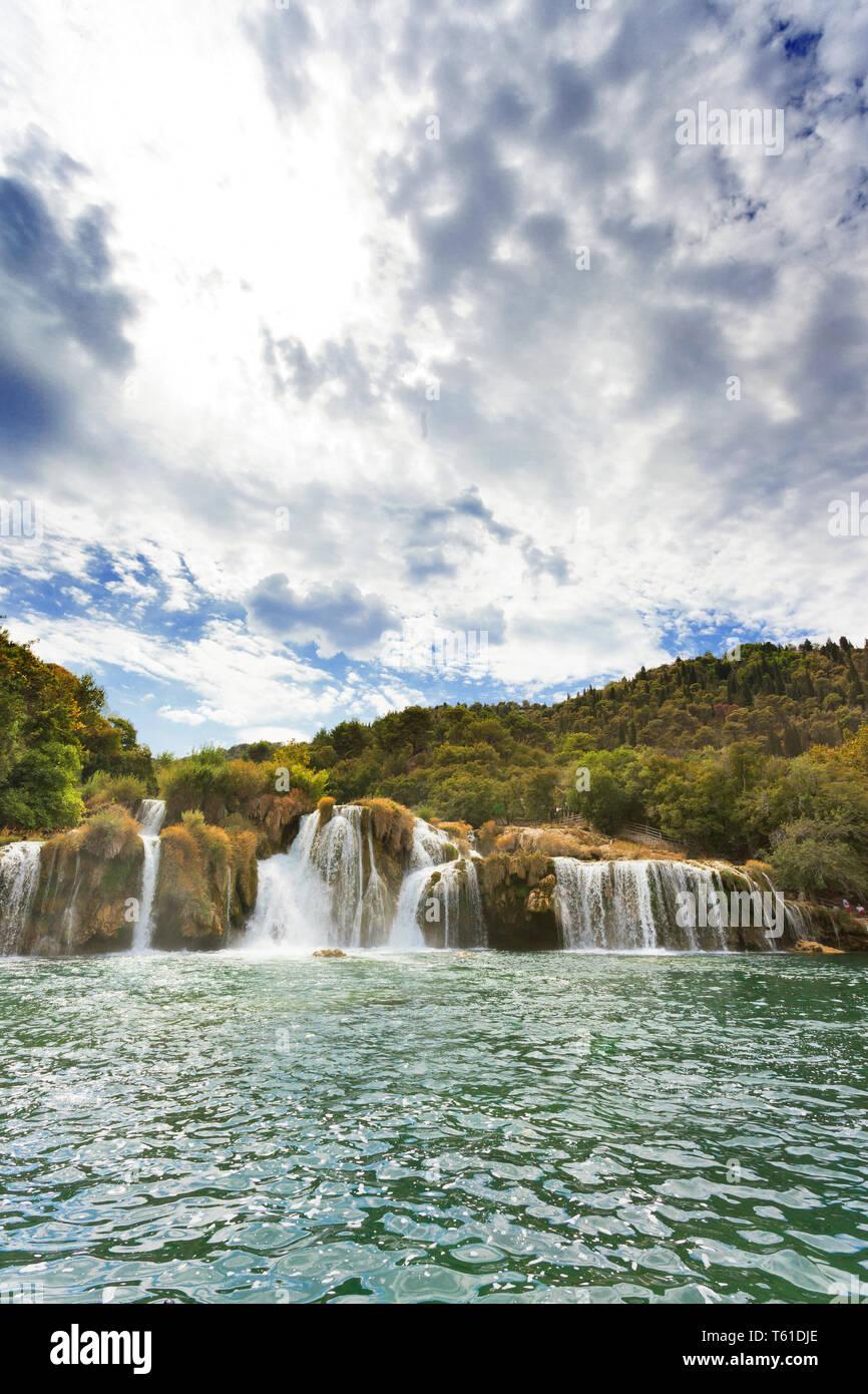 Krka, Sibenik, Kroatien, Europa - erhalten die Chance, Krka zu besuchen alle auf ihre eigene Stockfoto