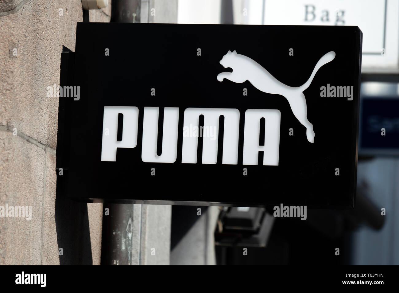 Puma Brand Stockfotos & Puma Brand Bilder Alamy