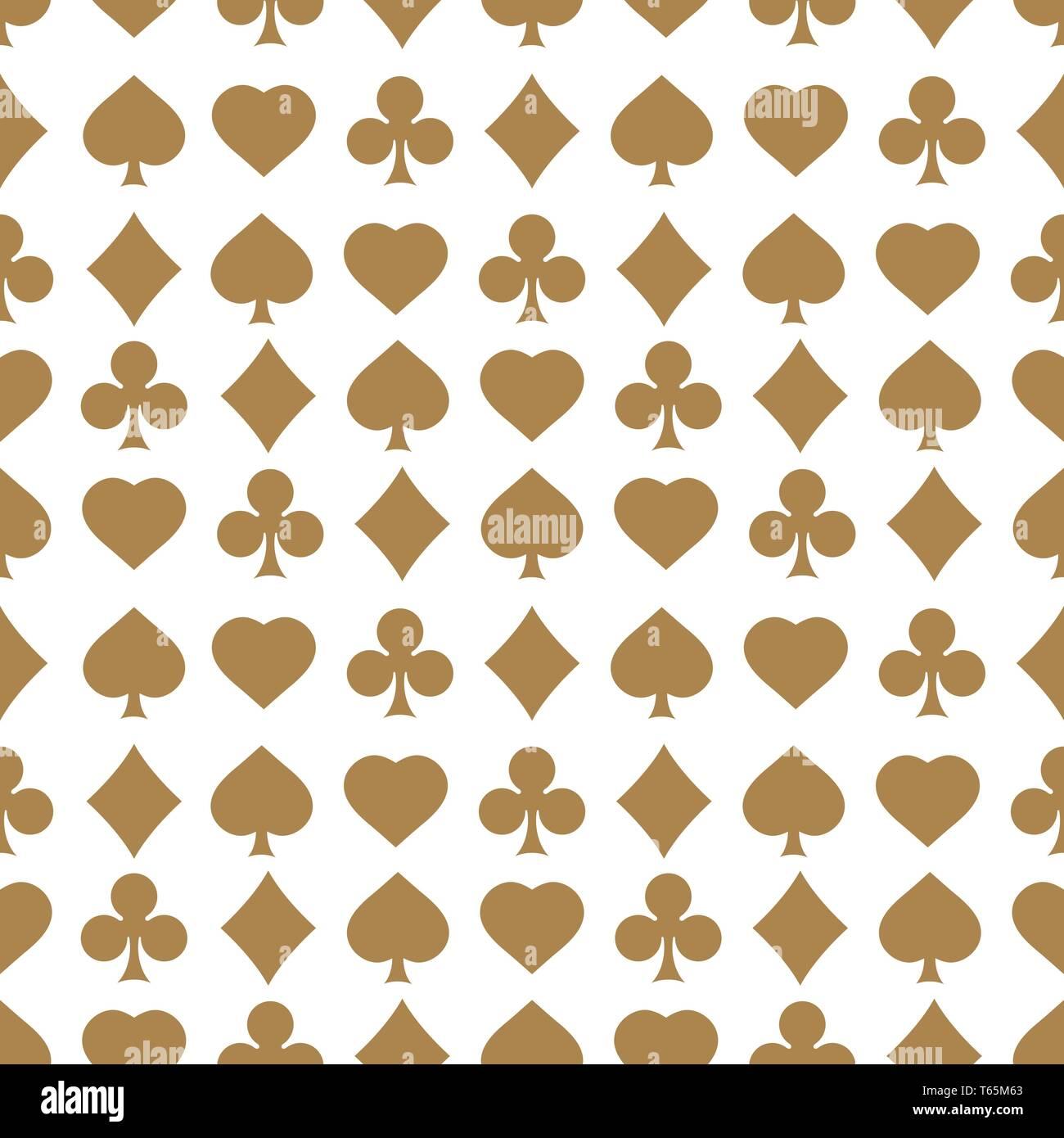 Kreuz Karte.Nahtlose Muster Mit Karte Passt Endlose Hintergrund Von Herz Karo