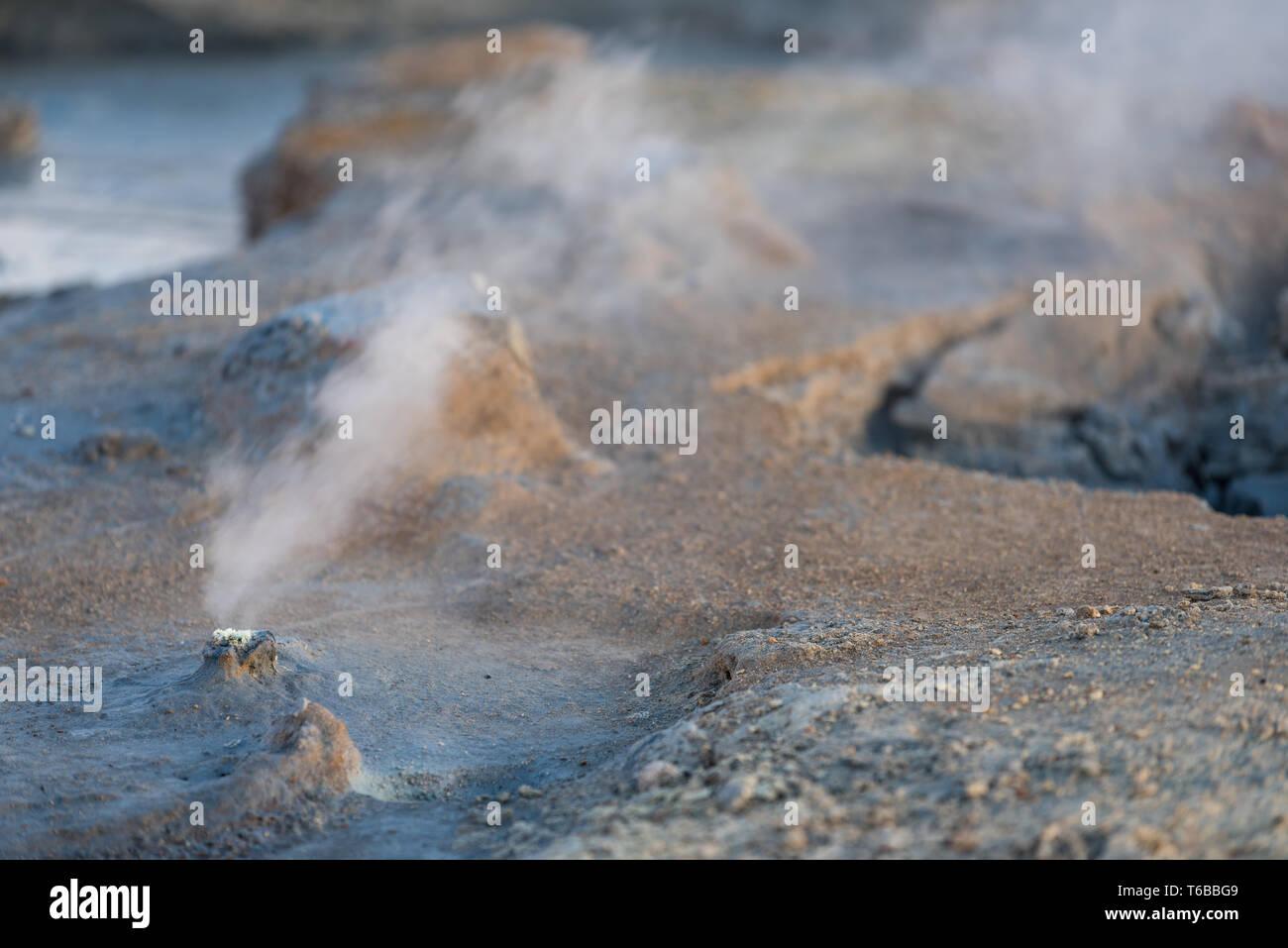 Namafjall Island Stockbild