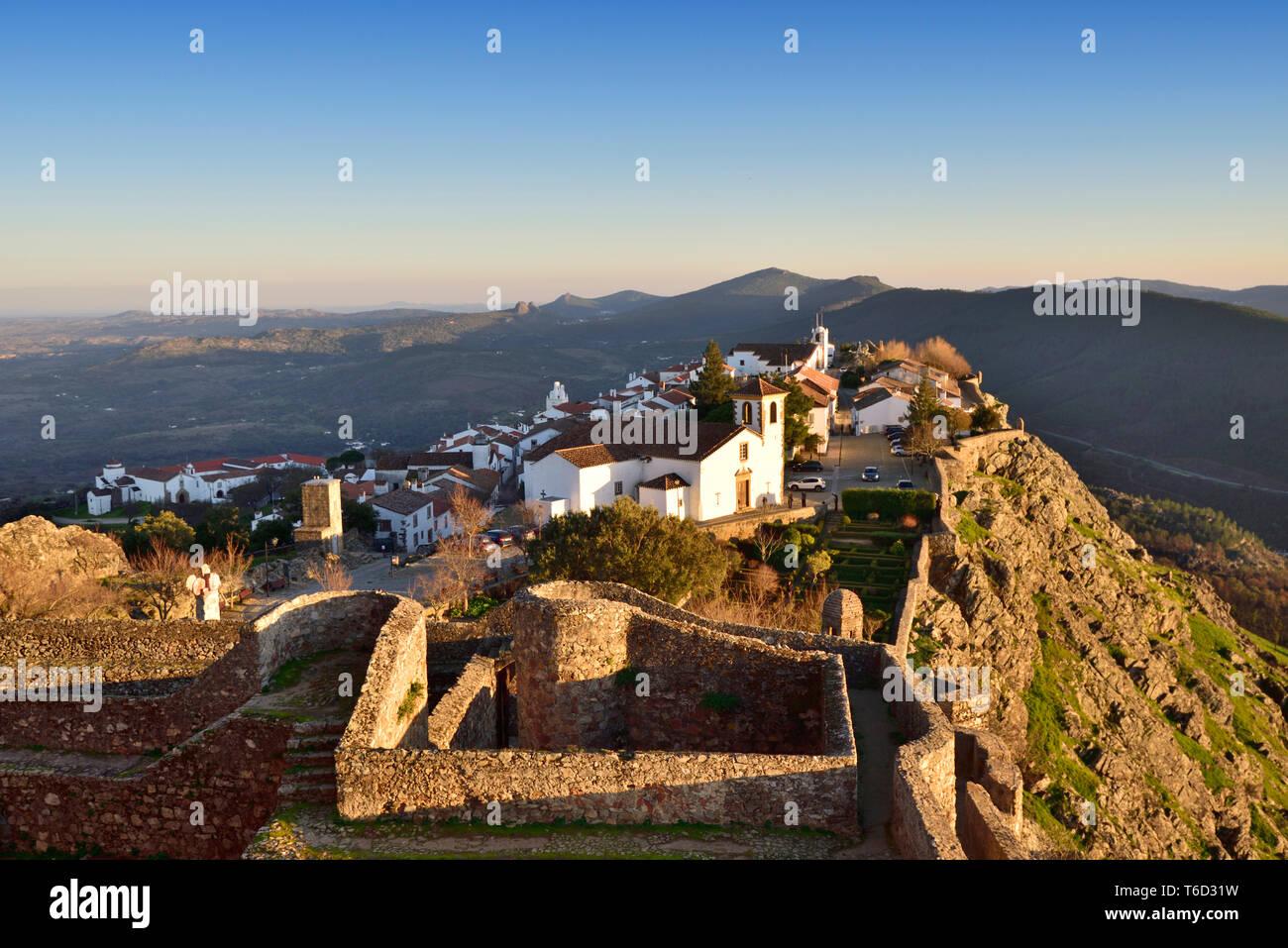 Im 9. Jahrhundert Dorf von Ohrid mit arabischen Ursprungs. Portugal Stockfoto