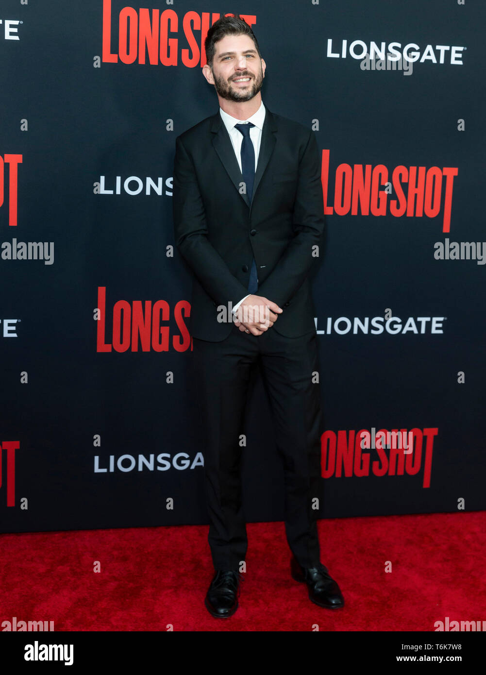 New York, NY - 30. April: Jonathan Levine die Premiere von 'Long Shot besucht' bei AMC Lincoln Square Theater Stockbild