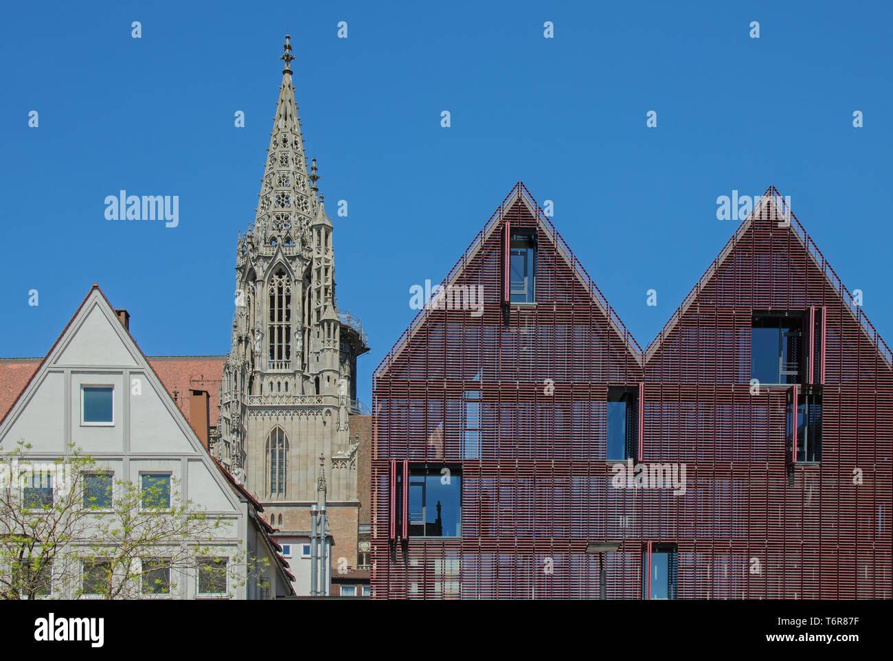 Ulmer Münster Stockfoto