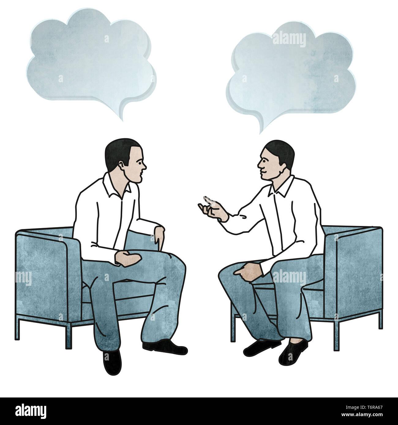Business-meeting Stockbild