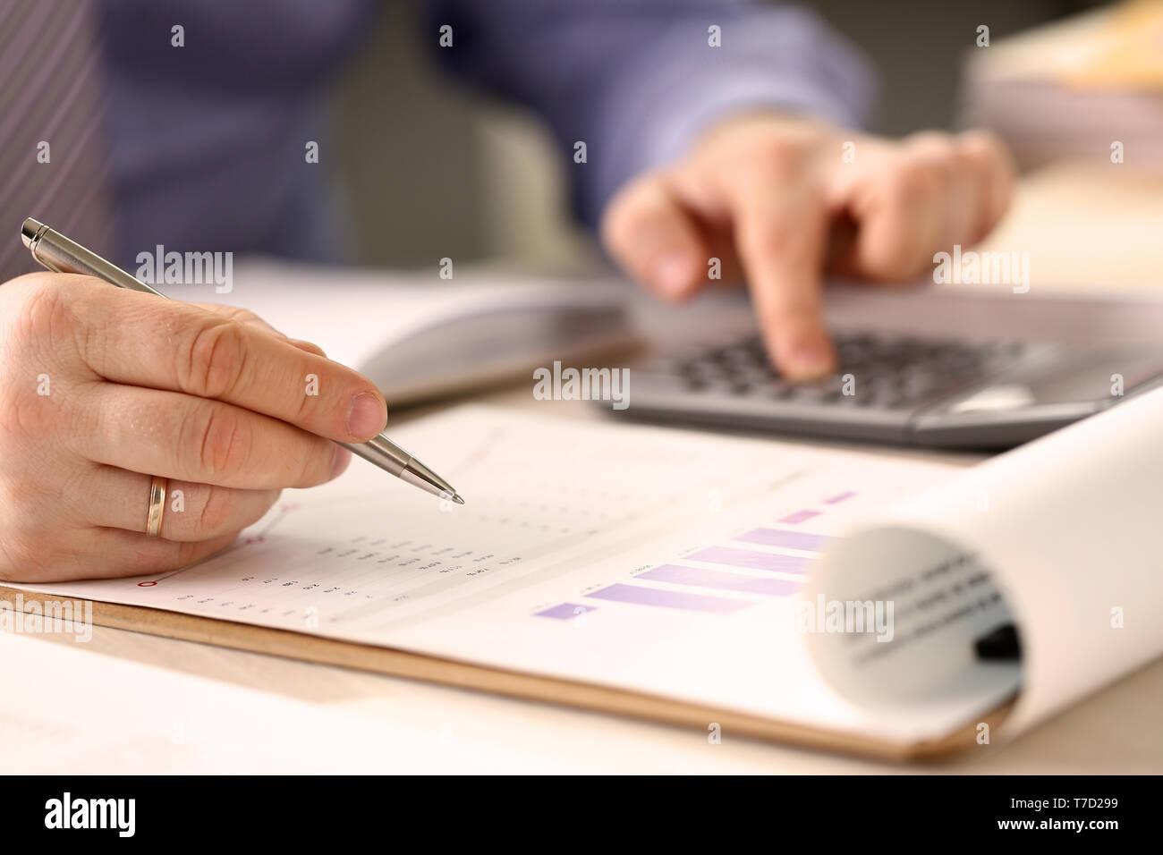 Corporate Business Finanzierung Rechnungswesen Konzept Stockbild