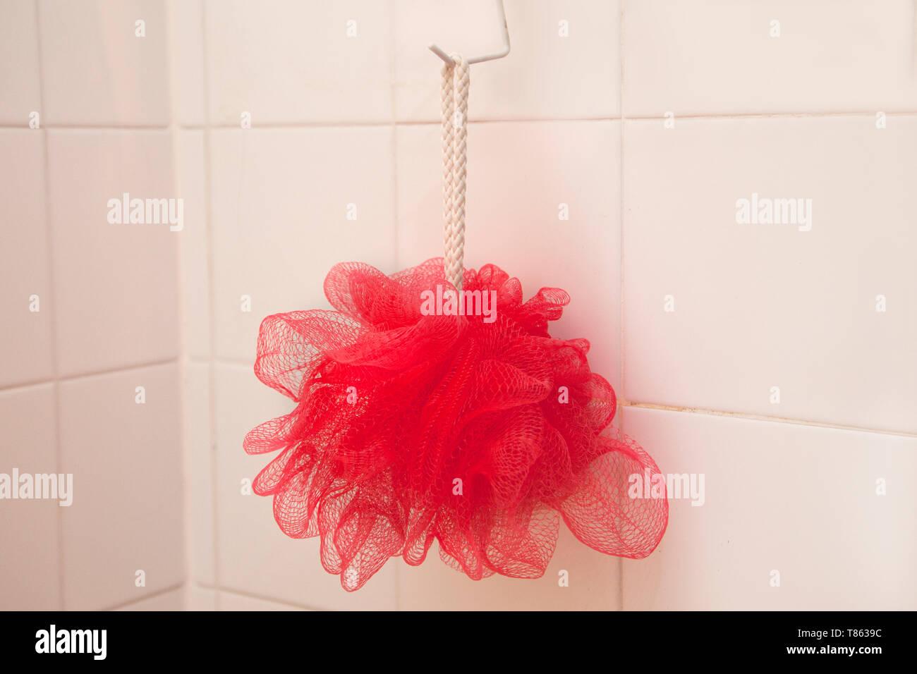 Haken-auf-Dusche
