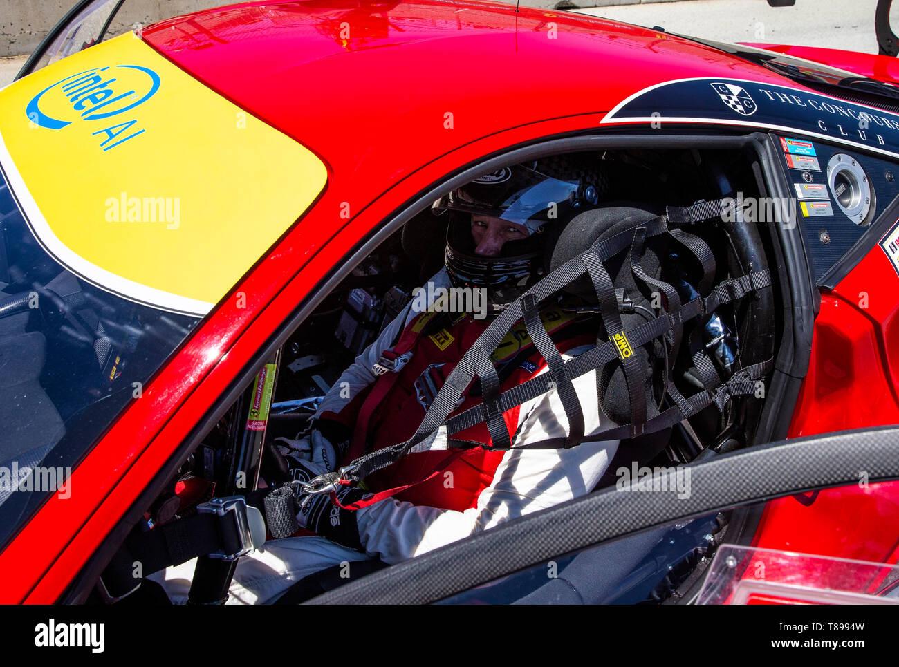 Monterey Kalifornien Usa 11 Mai 2019 Ferrari Challenge Rennen 1 S N Pm 163 Jay Schreibman