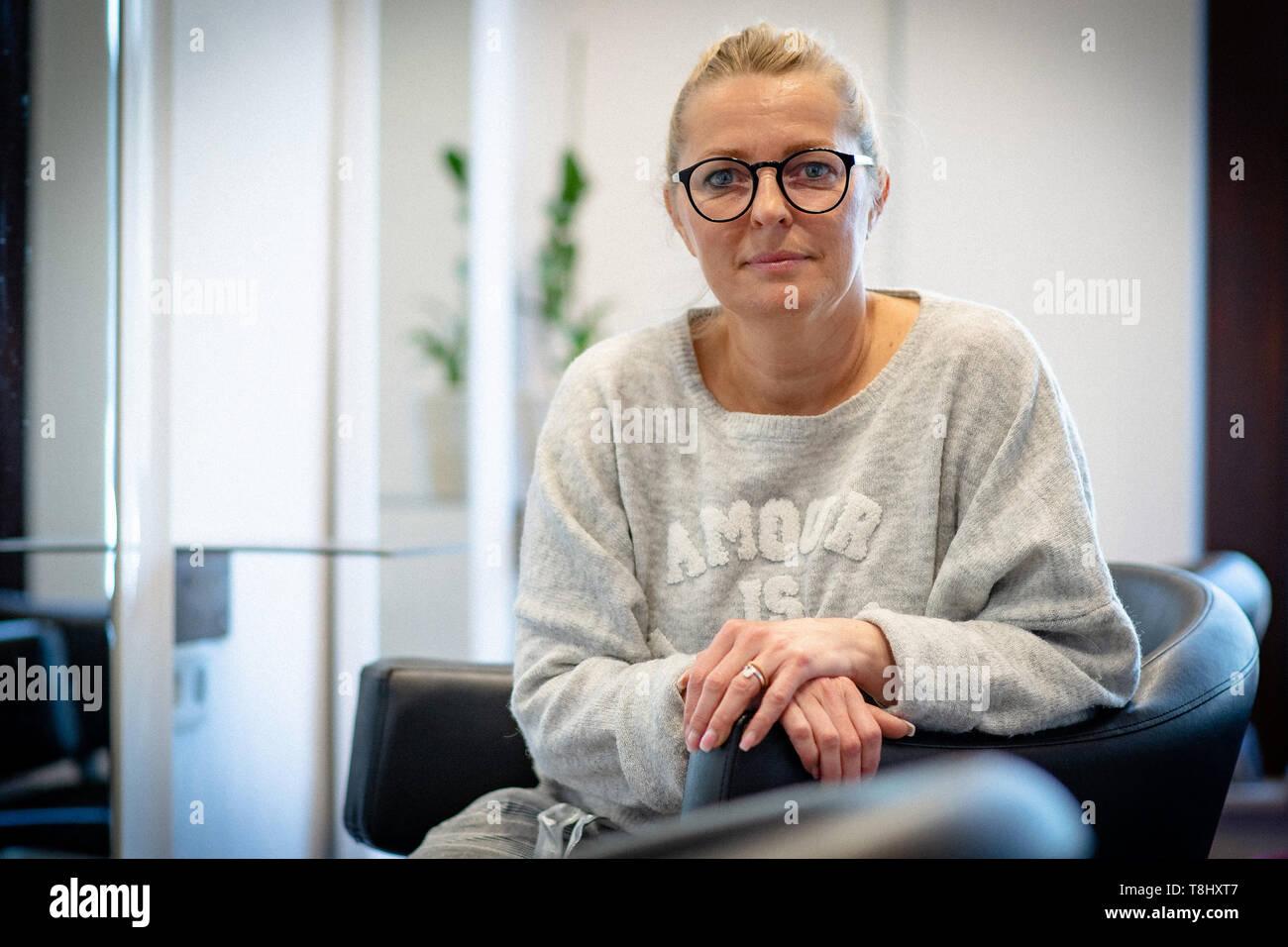 Kassel Deutschland 30 Apr 2019 Sandra Hilpert Master Friseur