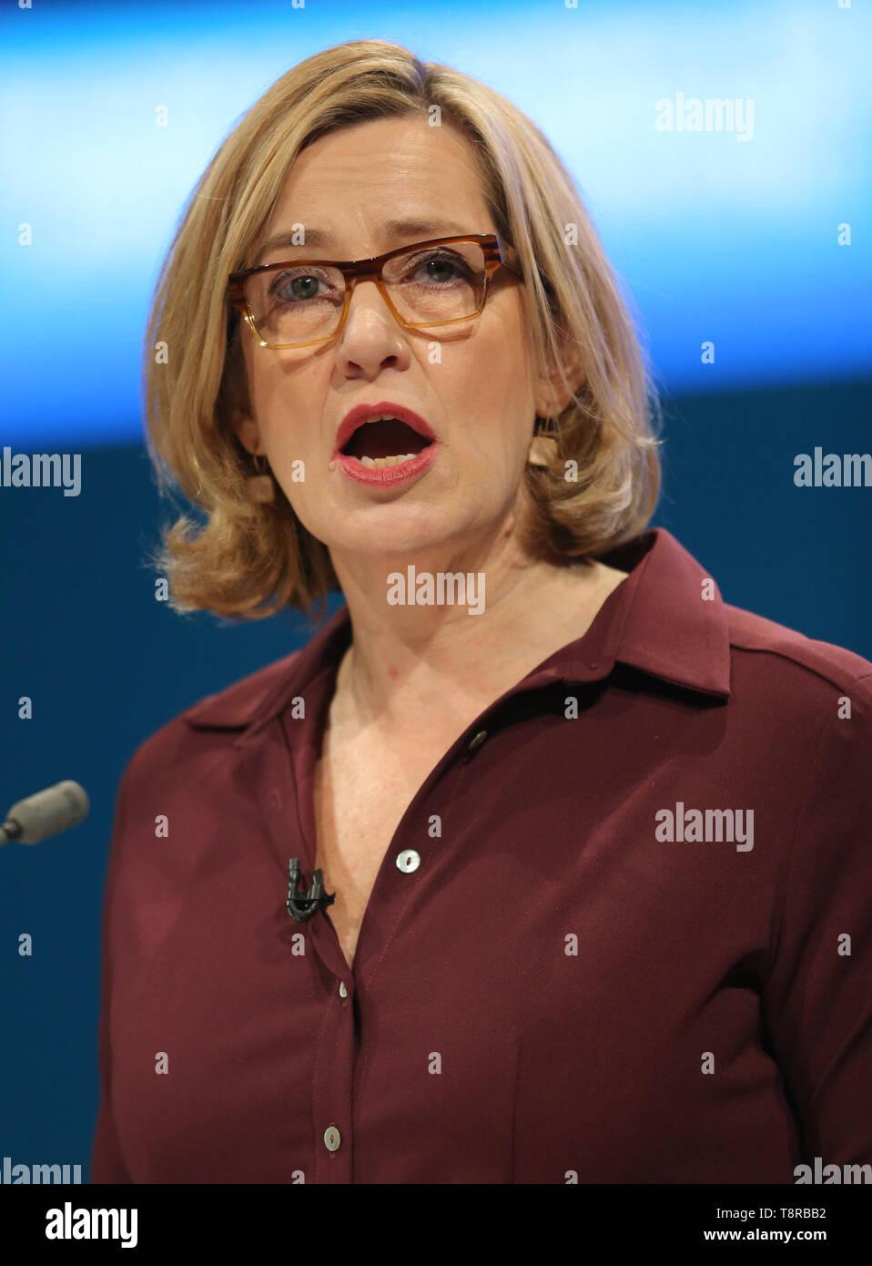 AMBER RUDD MP, 2017 Stockbild