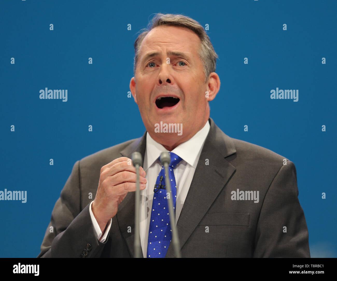 LIAM FOX MP, 2017 Stockbild