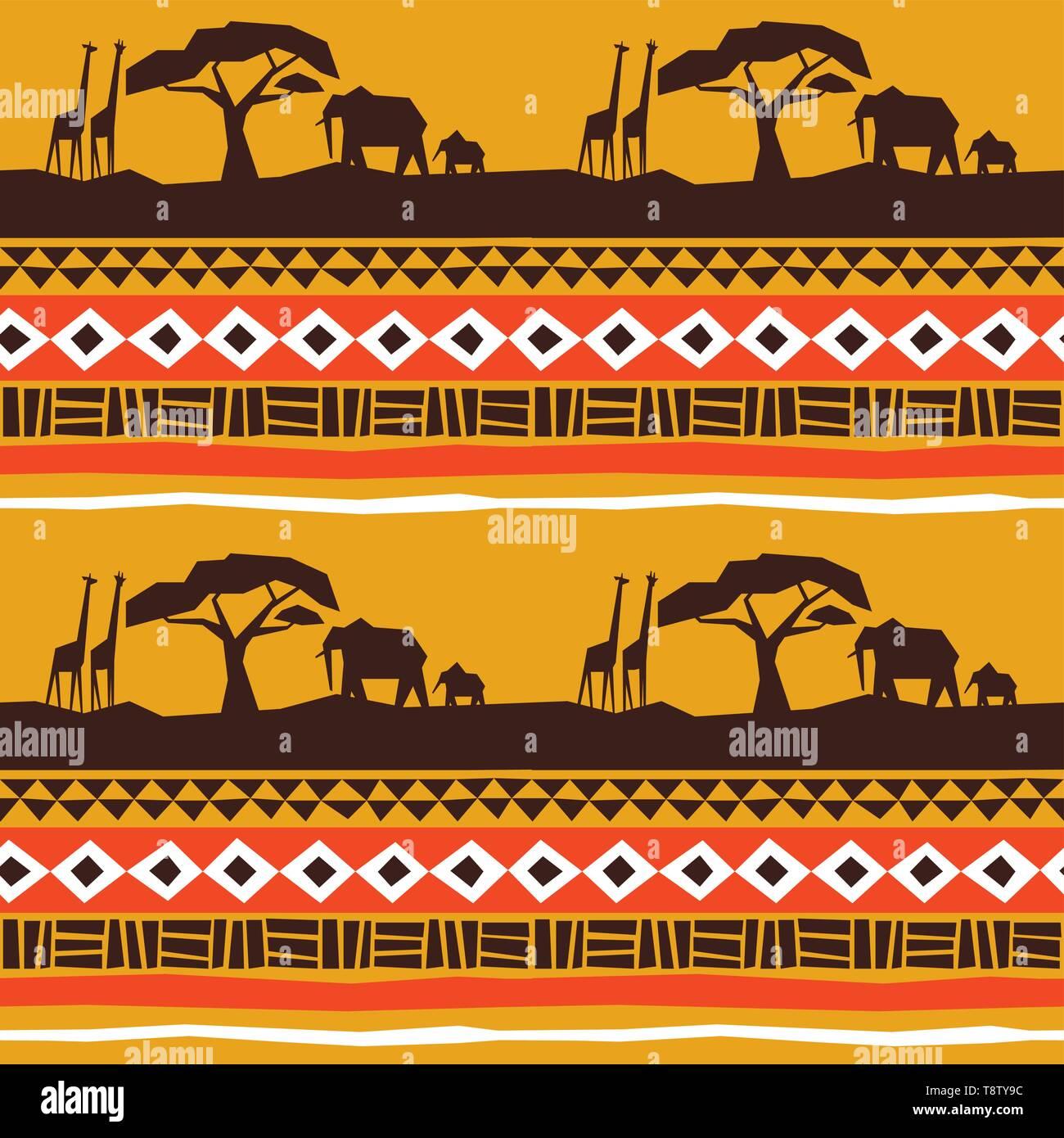 Vektorgrafik Afrikanischen Muster Afrikanische
