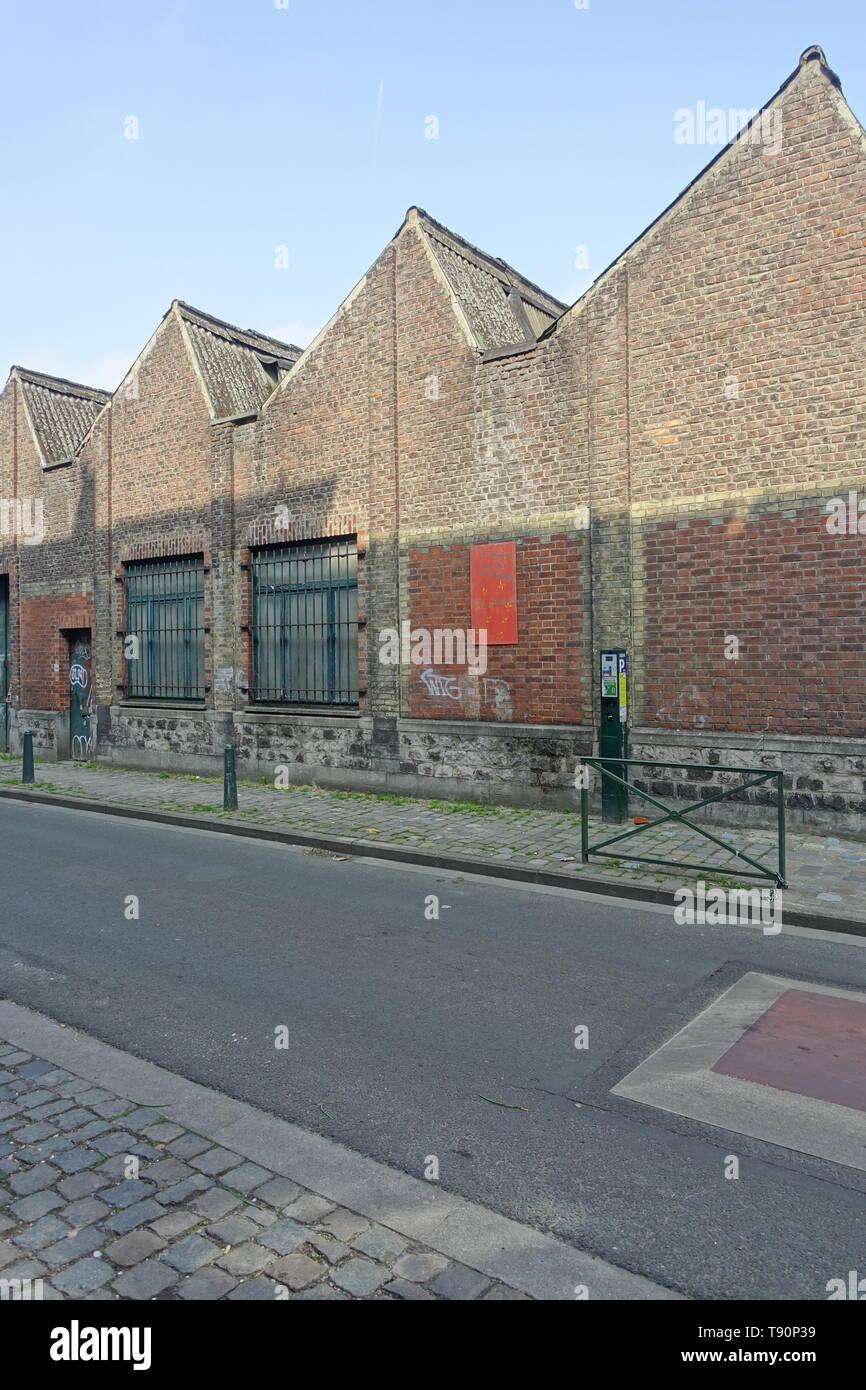 Brüssel, Brüssel, Molenbeek-Saint-Jean/Woluwe-saint-Molenbeek; Sterben Bevölkerung Kurzdossiers von Molenbeek hat einen hohen Anteil vor allem von Einwanderern, von den Stockbild