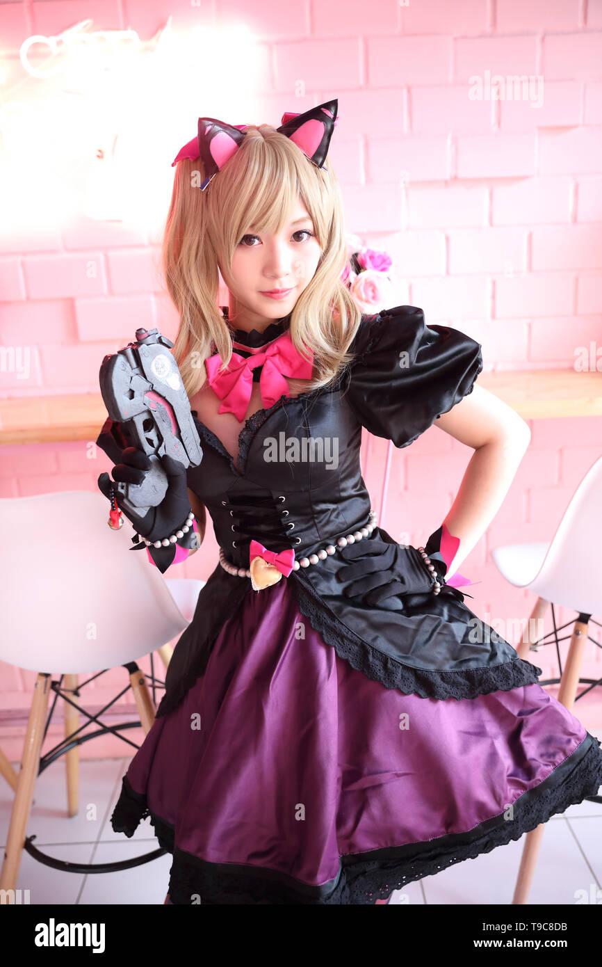 japanische cosplay madchen