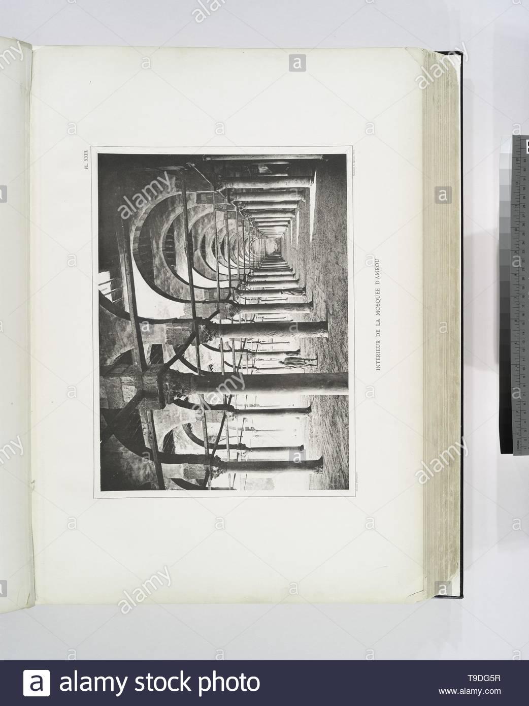 Palmieri, André-Intérieur de la Mosquée d&x27, Amrou Stockbild