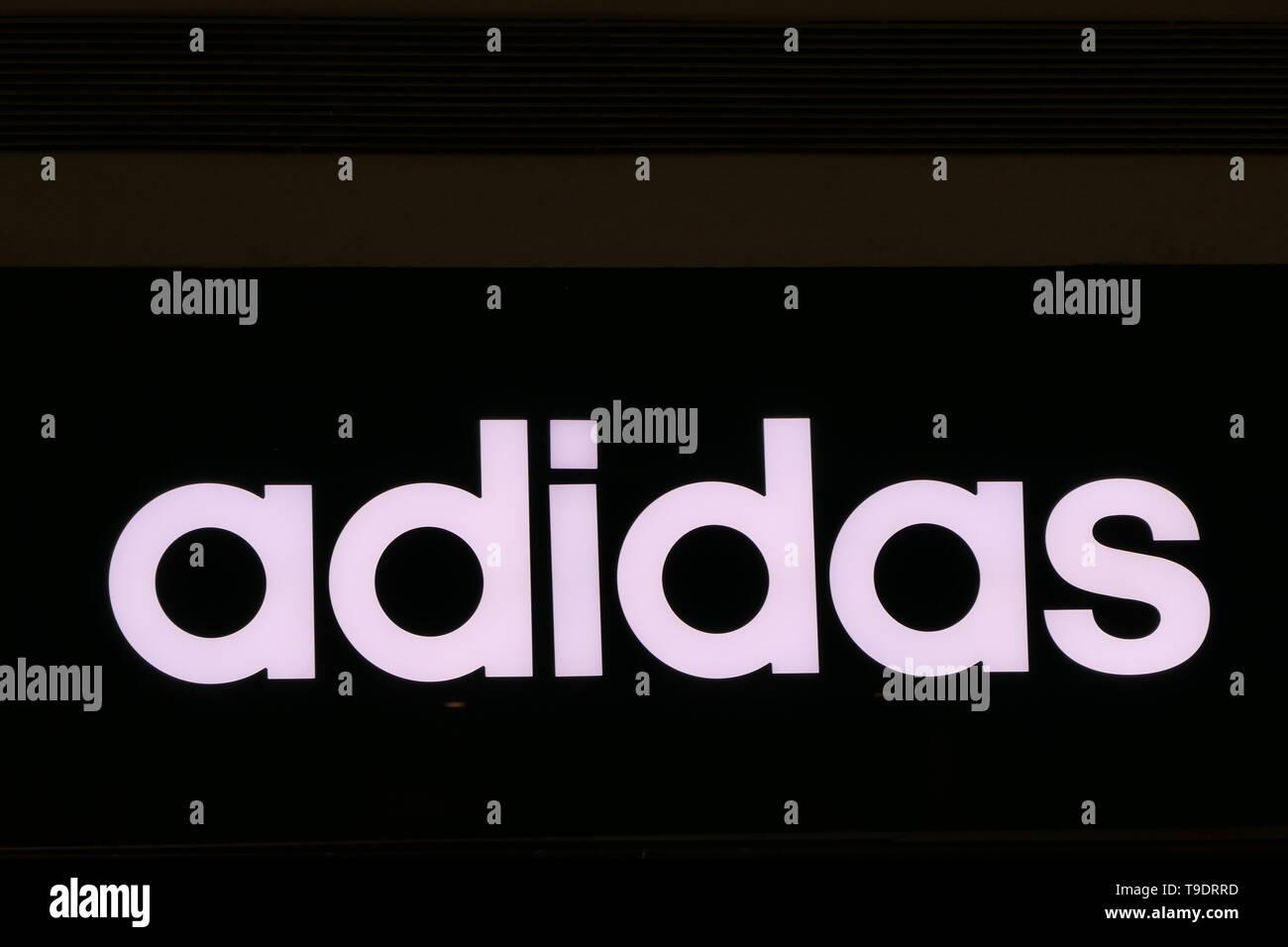 Adidas Logo Icon Stockfotos & Adidas Logo Icon Bilder Alamy
