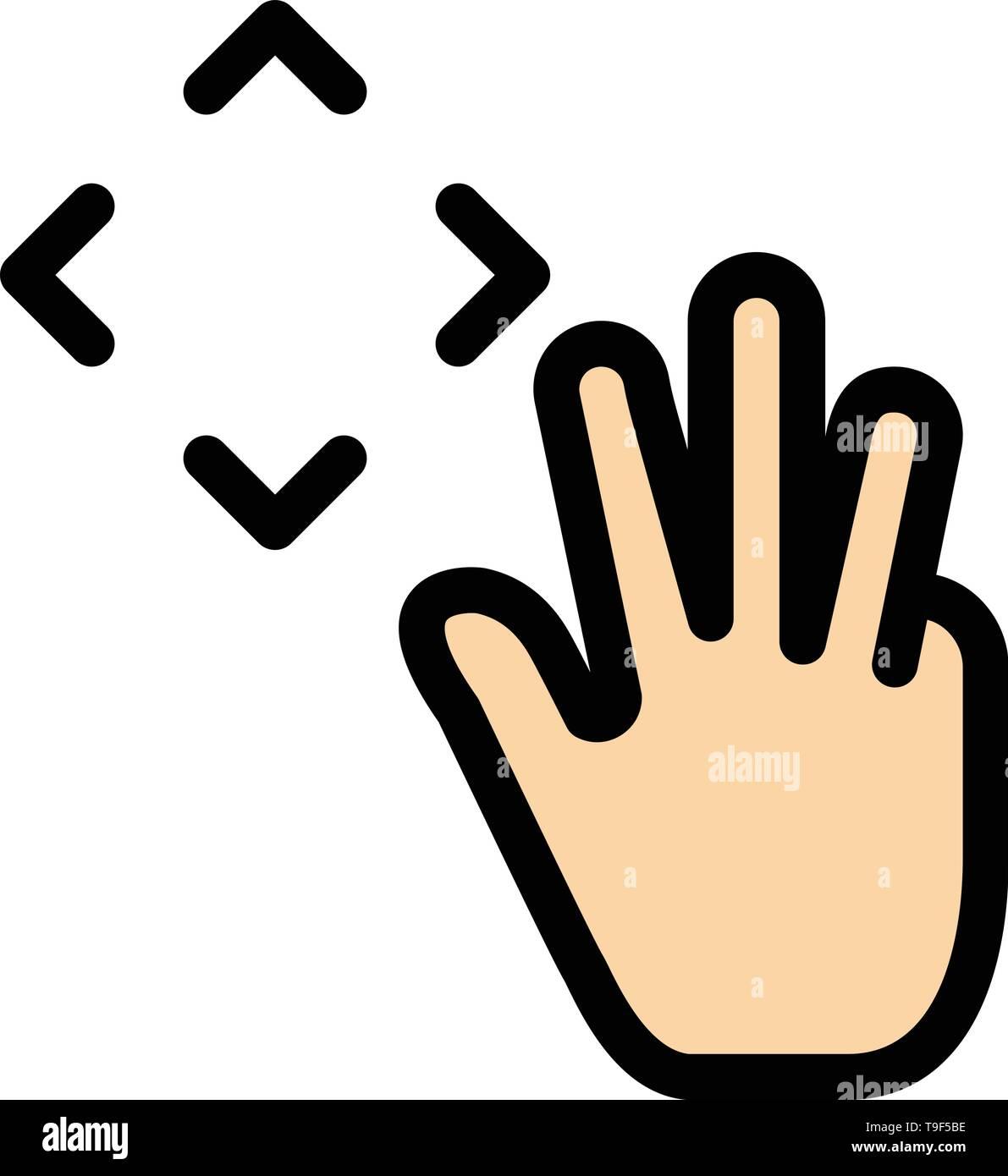 Vorlage Fur Jahresschreiber Palm Hand Clip 6