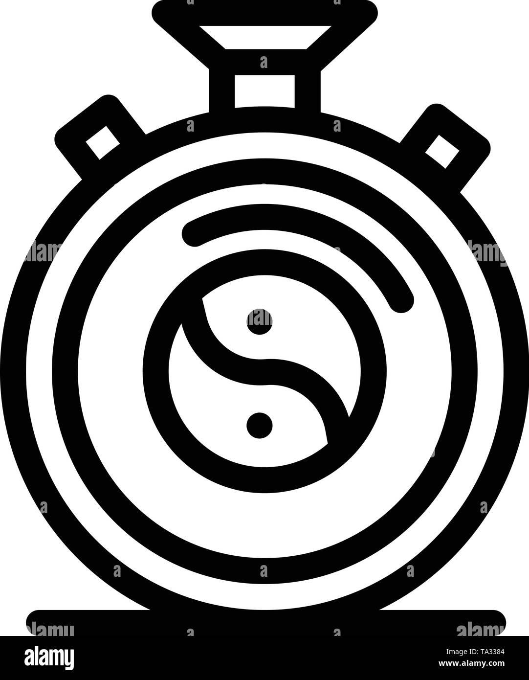 Uhr, Konzentration, Meditation, Praxis Blau und Rot Jetzt herunterladen und Web Widget Karte Vorlage kaufen Stockbild