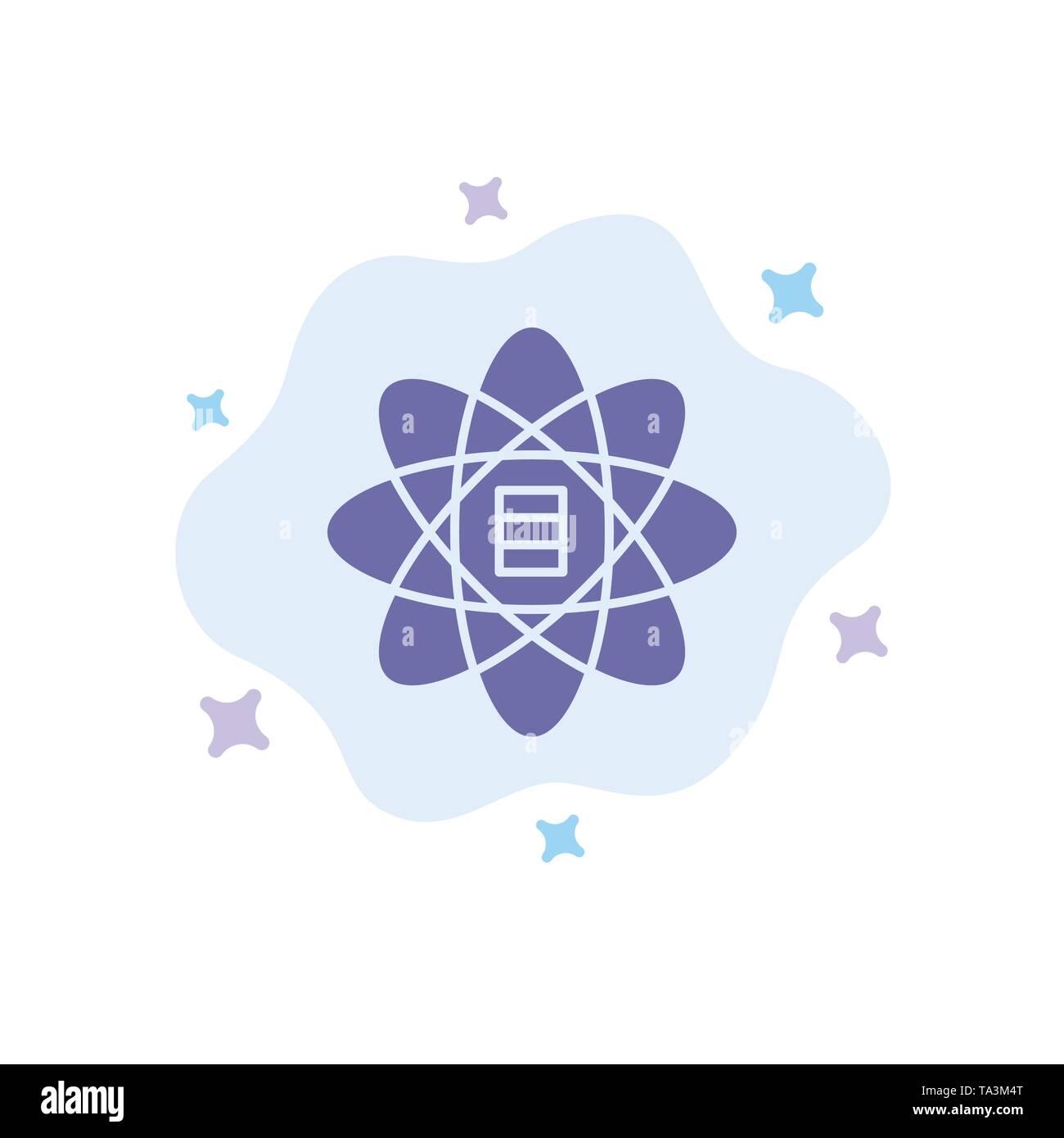 Daten, Wissenschaft, Daten Wissenschaft, Dollar, blaues Symbol auf Abstrakten Cloud Hintergrund Stockbild