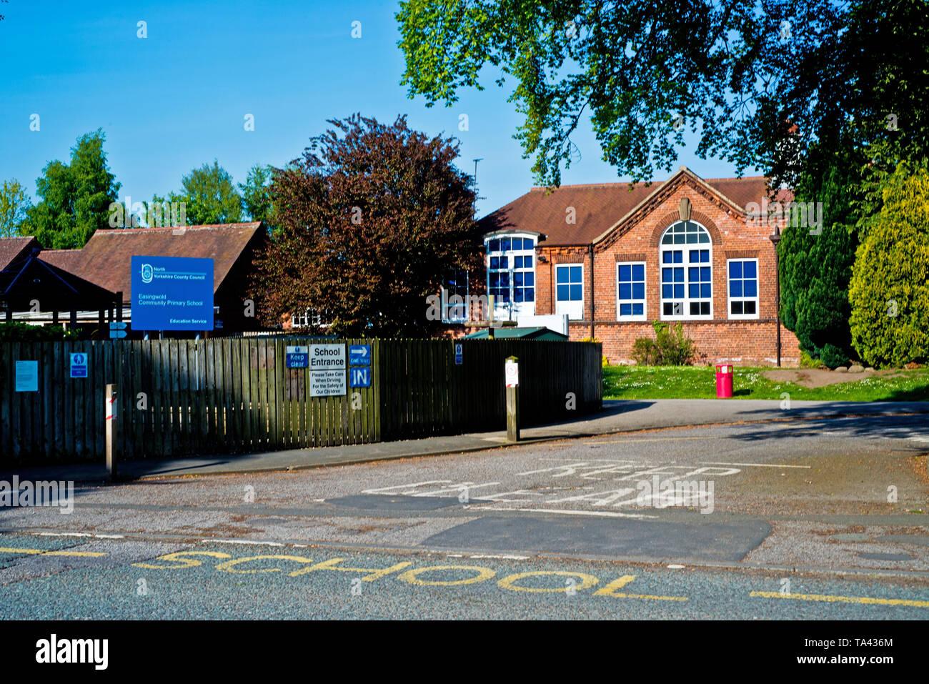 Easingwold Gemeinschaft Grundschule, Easingwold, North Yorkshire, England Stockbild