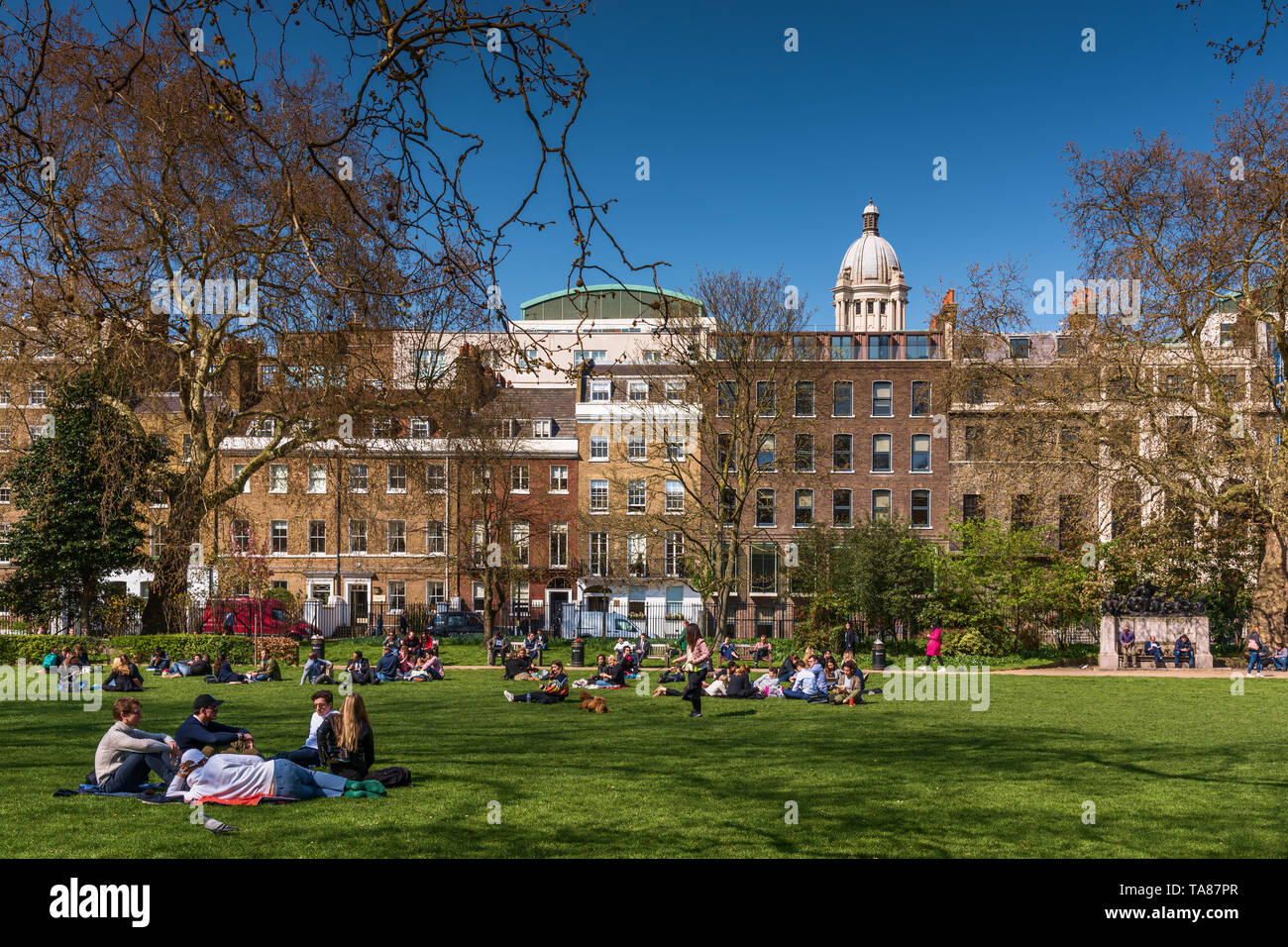 Lincoln's Inn Fields, London, UK Stockfoto