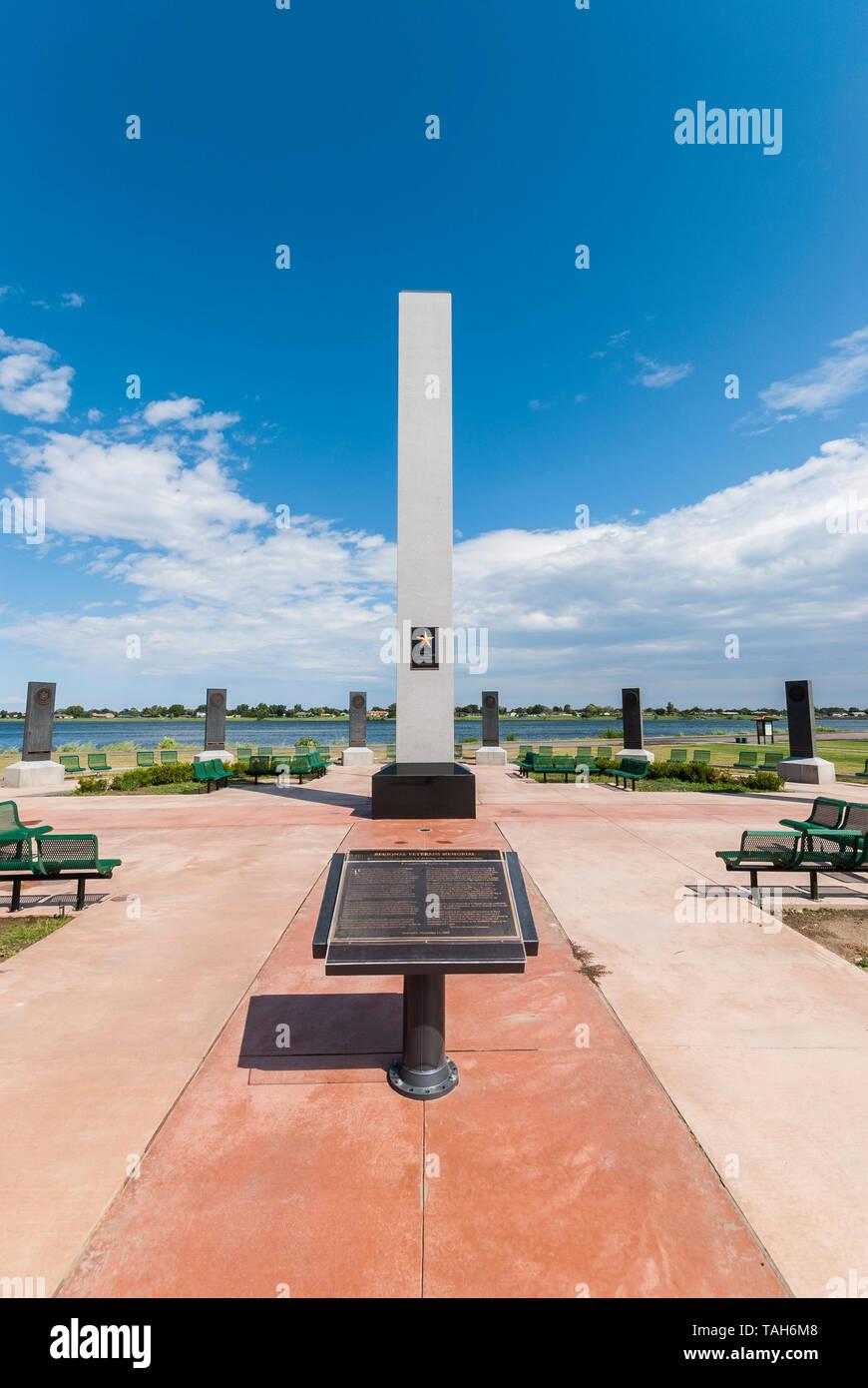 World Veterans Memorial in Kennewick, Washington. Stockfoto