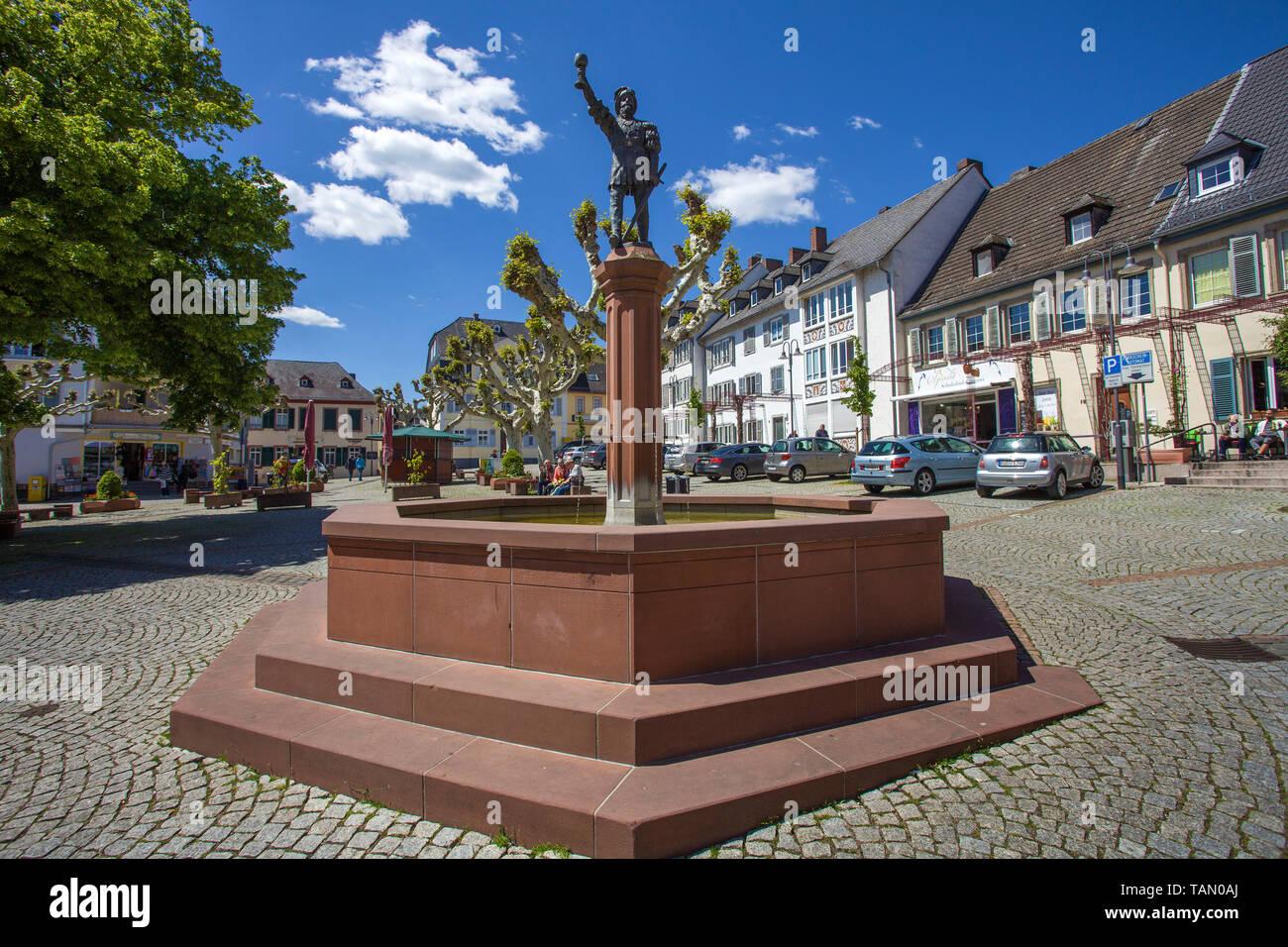 Weinbrunnen rüdesheimer platz 2019